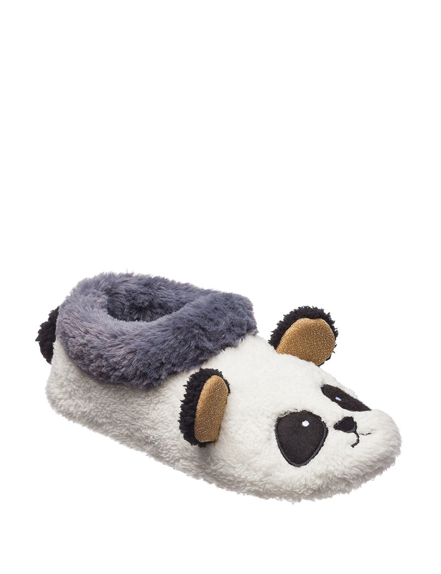 Kensie White Slipper Boots & Booties