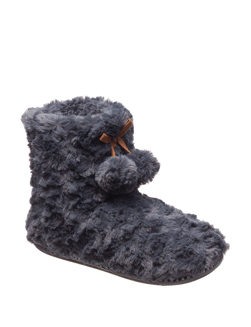 Chill Chasers Grey Slipper Boots & Booties