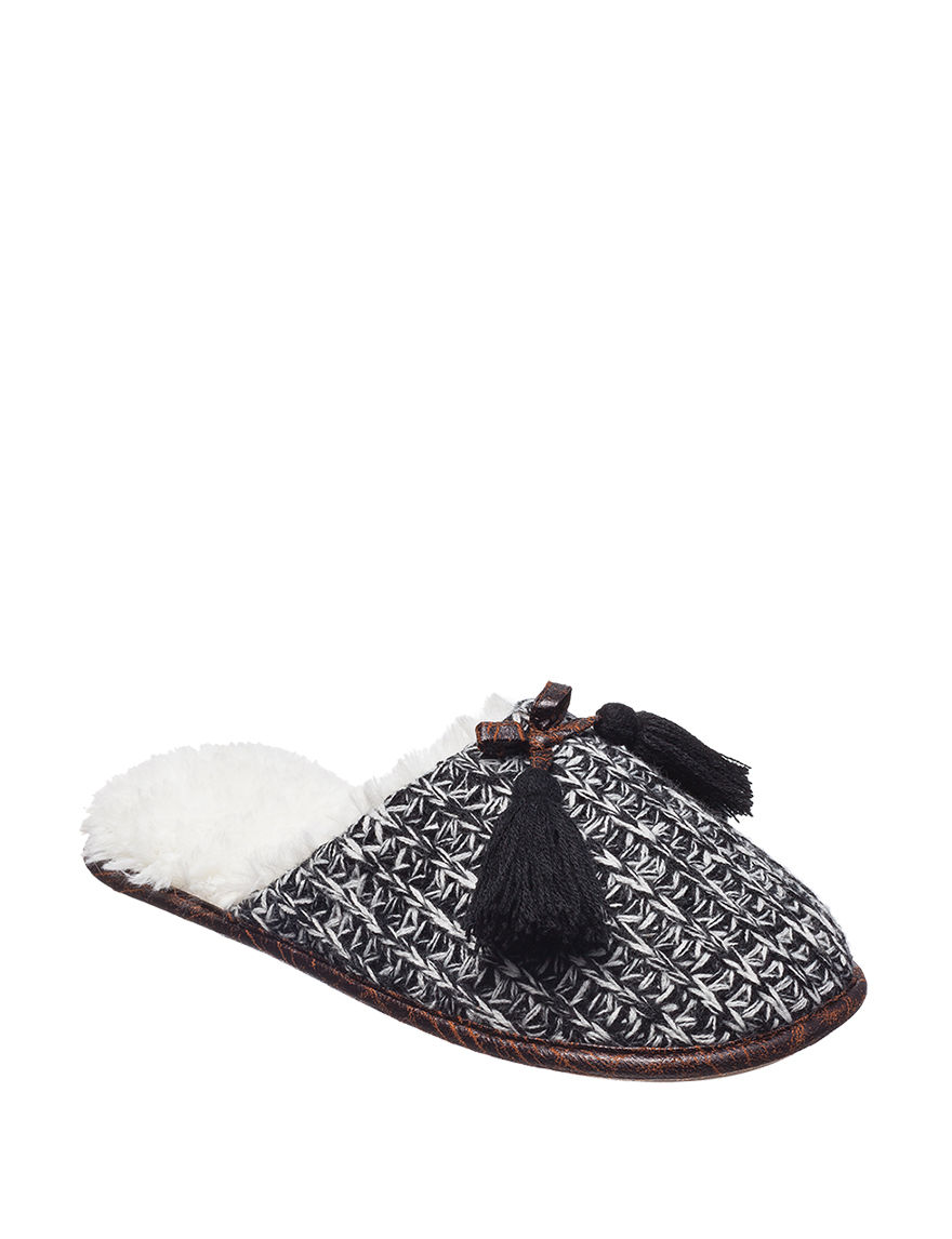 Chill Chasers Black Slipper Shoes