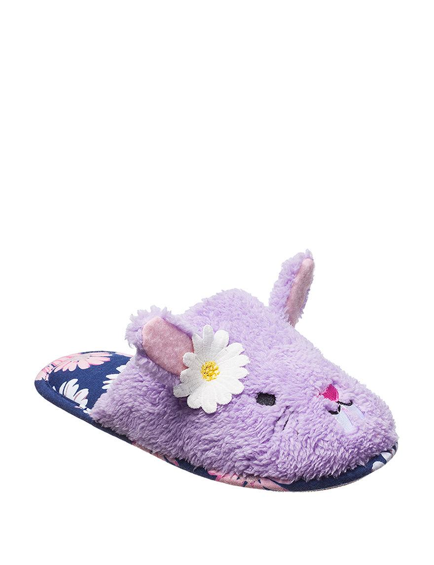 PJ Couture Purple Slipper Sandals