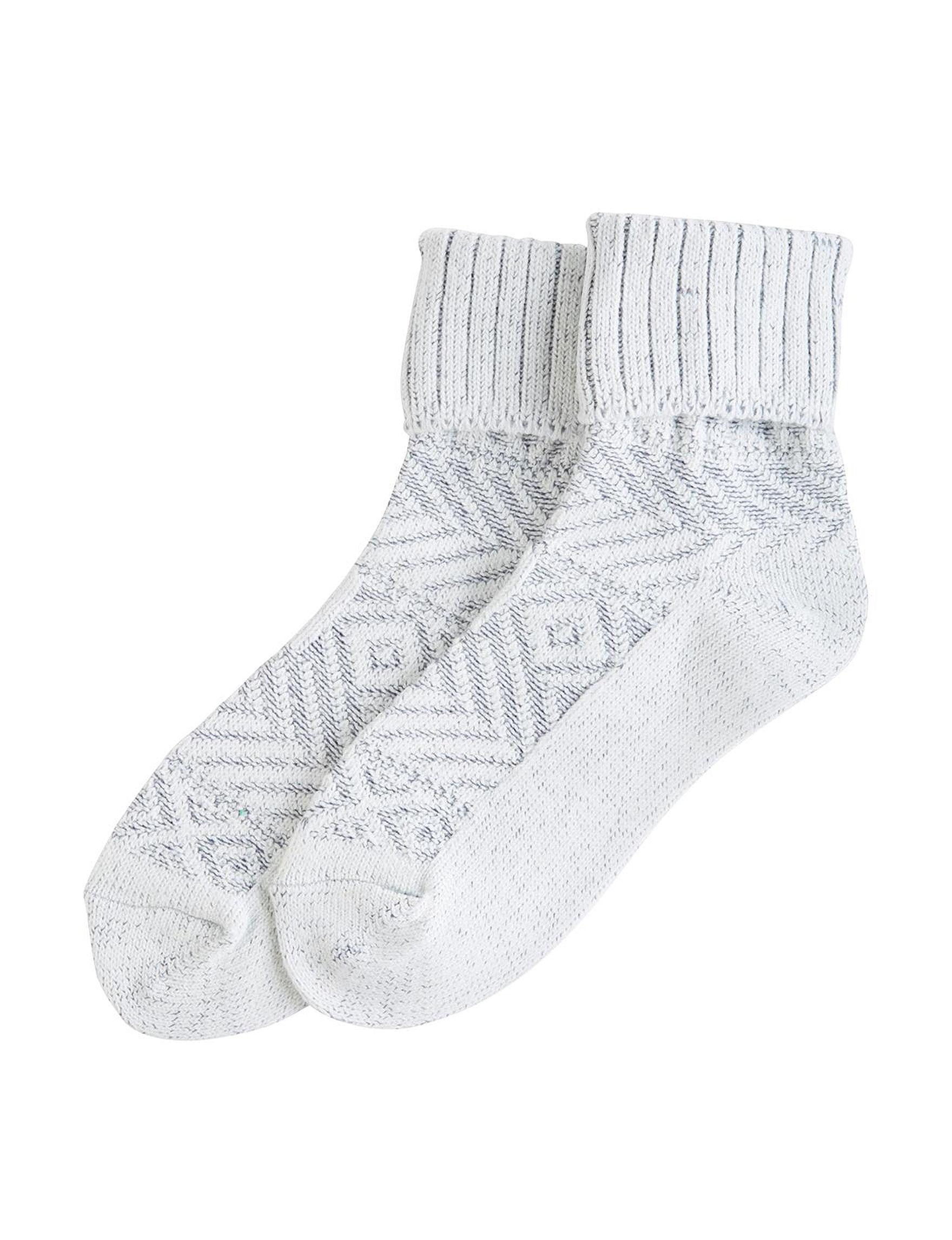 Hue Ivory Socks