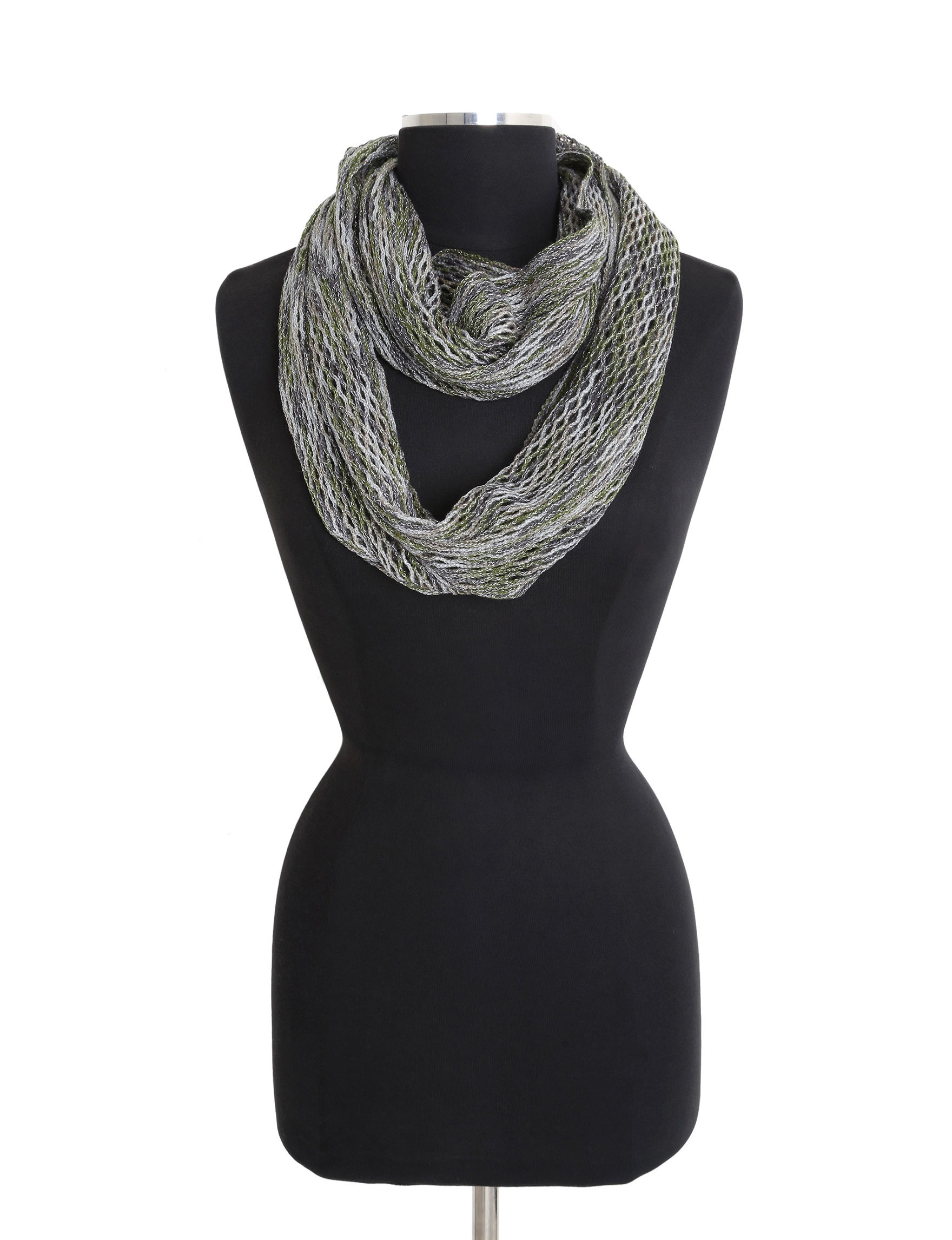 Steve Madden Taupe Scarves & Wraps Infinity & Loops