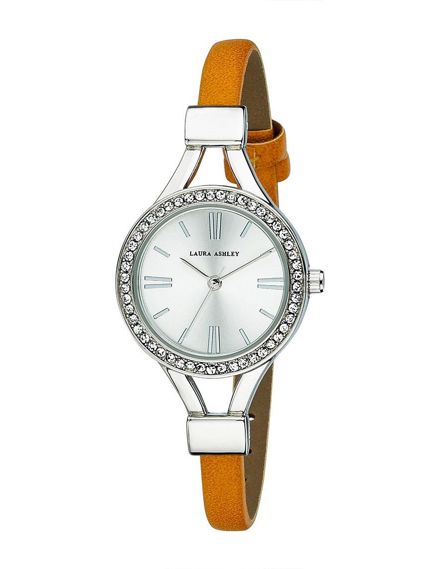 Laura Ashley Silver Fashion Watches