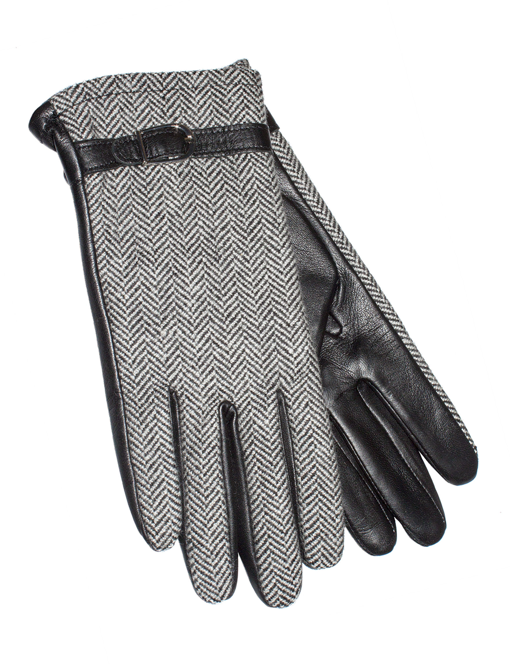 GII Black /  White Gloves & Mittens