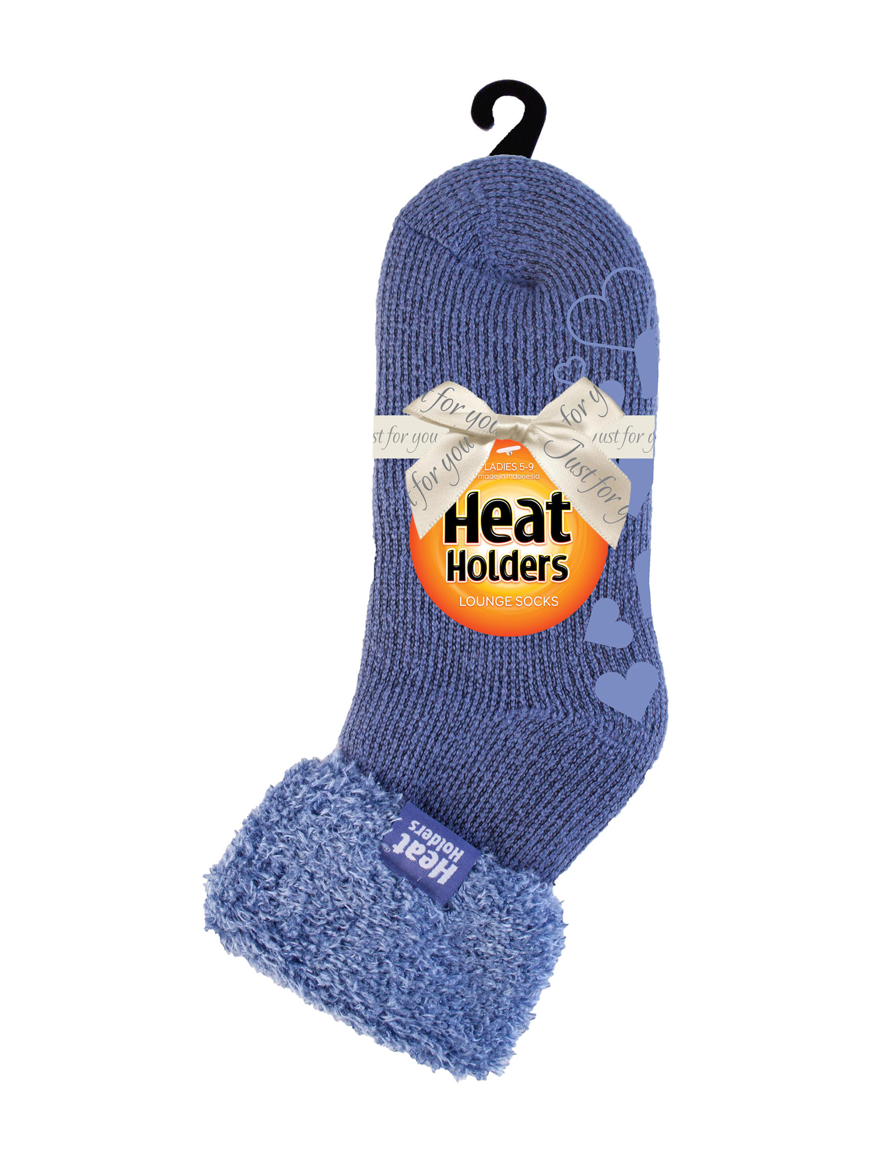 Heat Holders Purple Socks