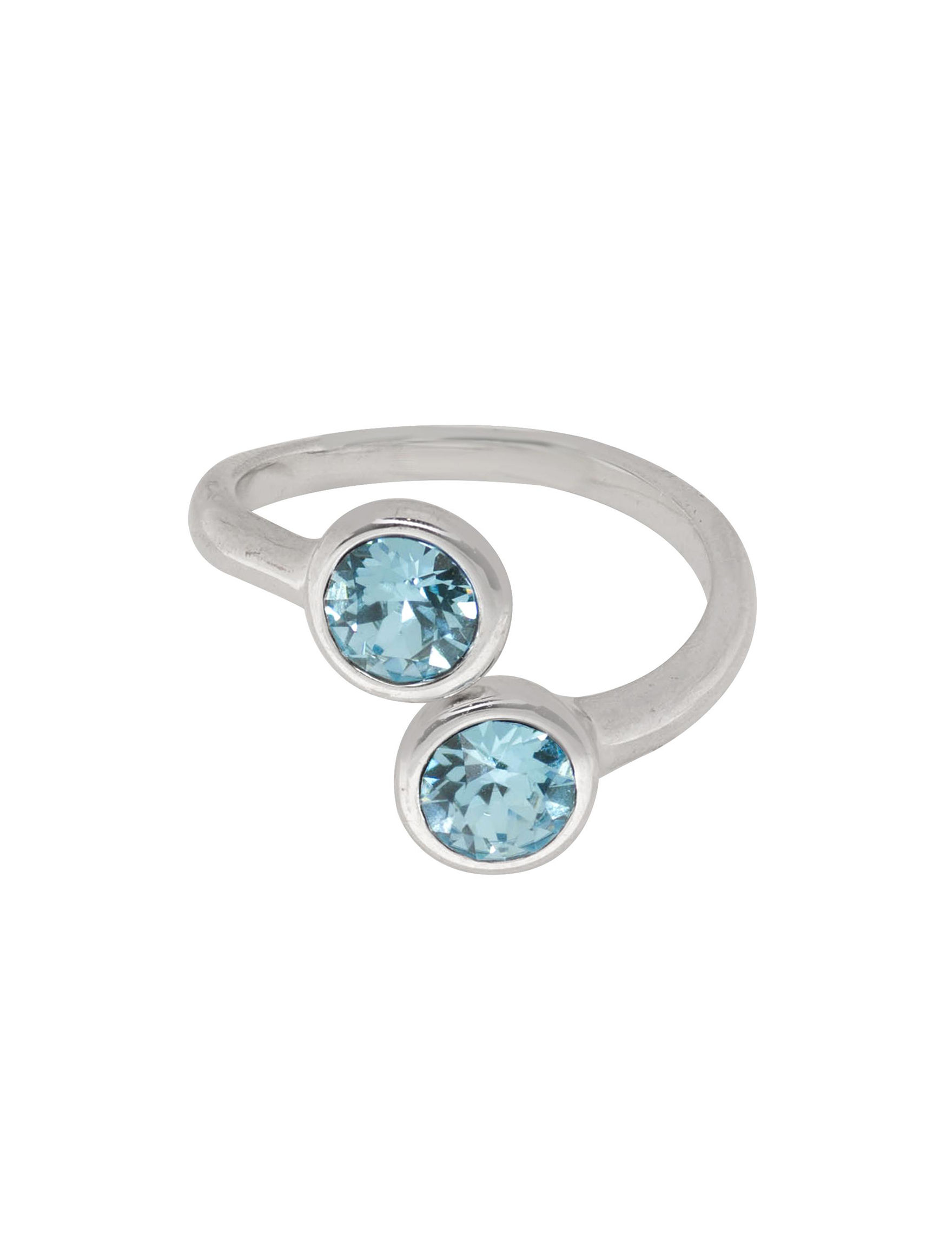 5th & Luxe Aqua Rings Fine Jewelry