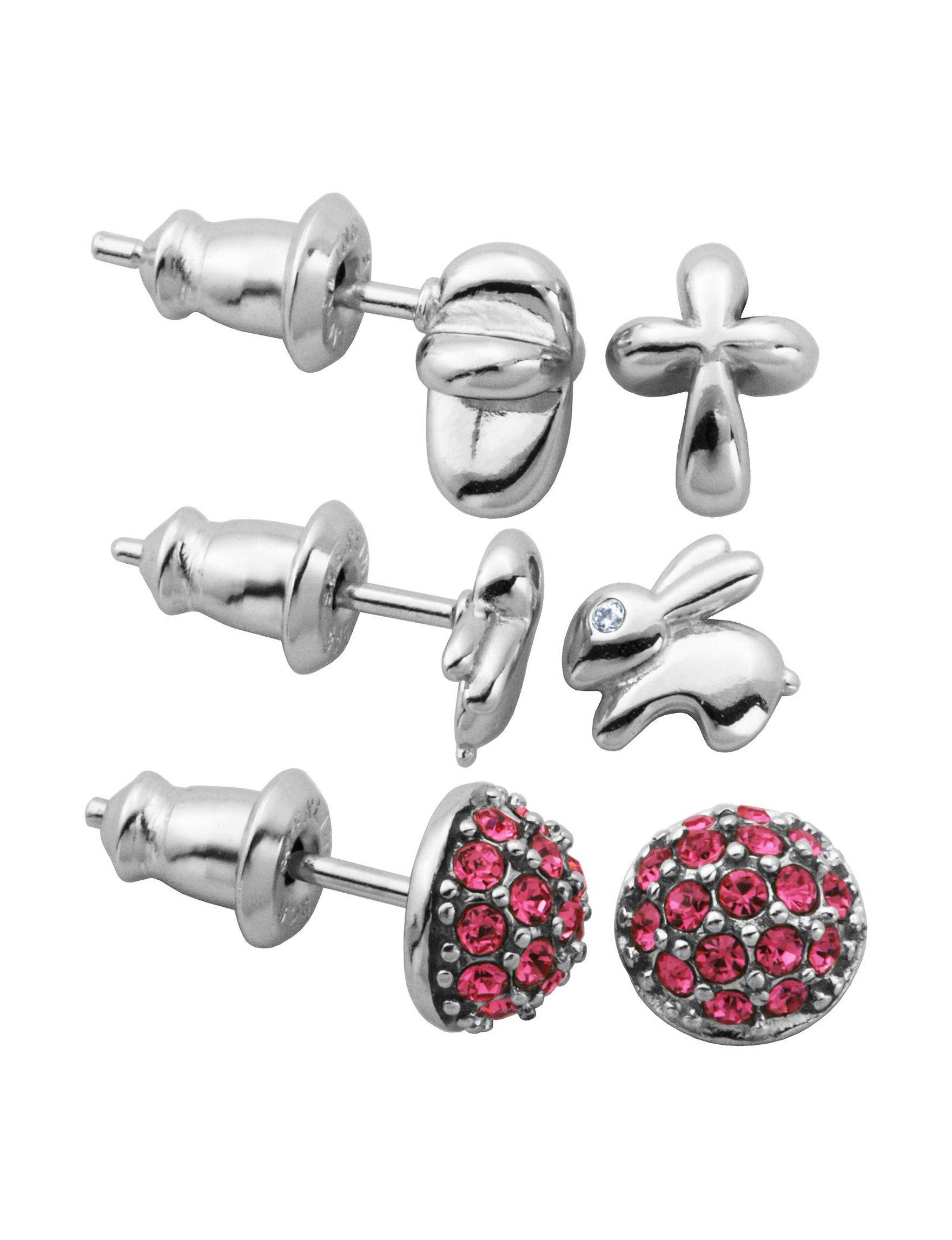 Lulabelle Assorted Studs Earrings Fine Jewelry