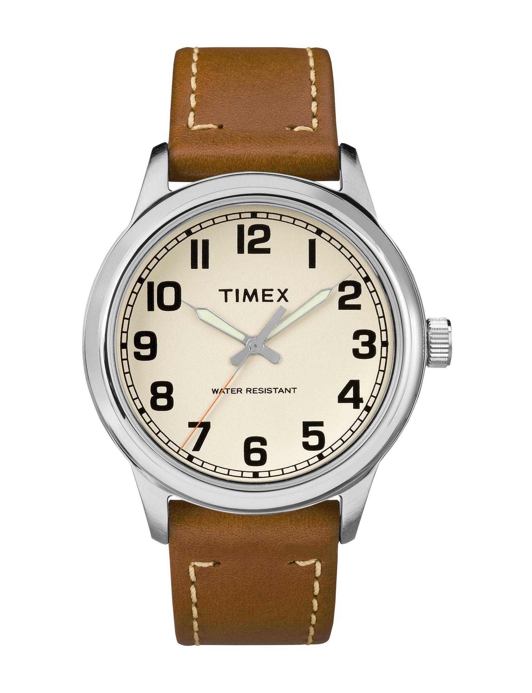 Timex Brown Fashion Watches
