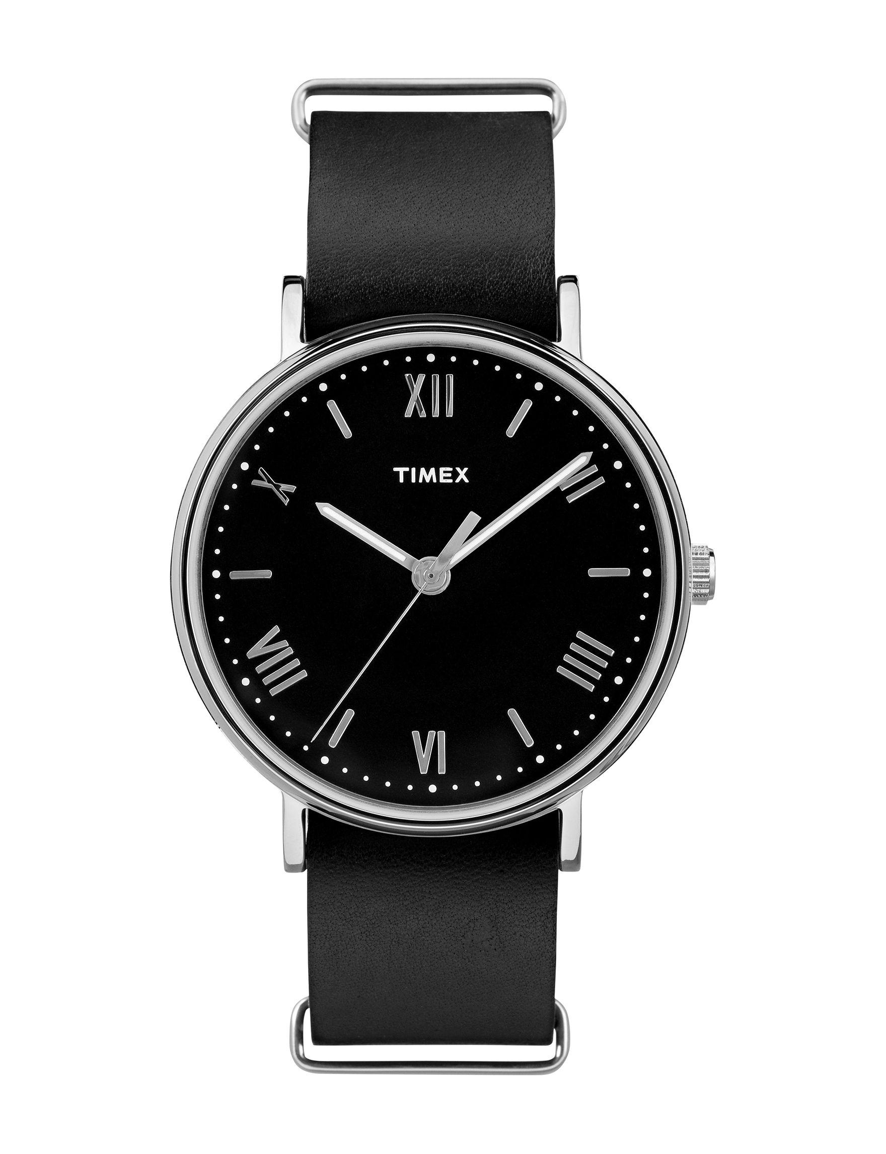 Timex Black Fashion Watches