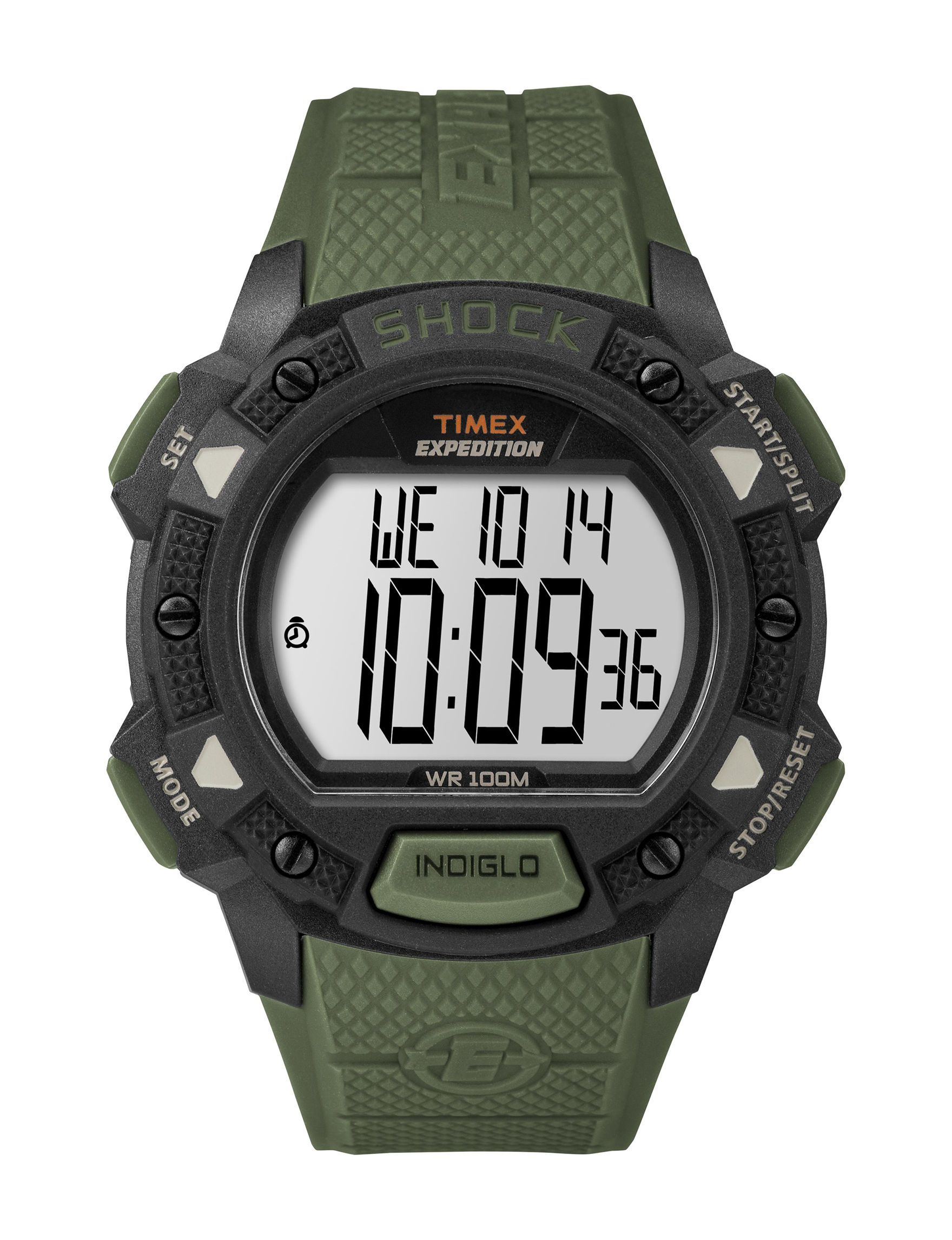 Timex Green Sport Watches Fitness Tech & Tracking