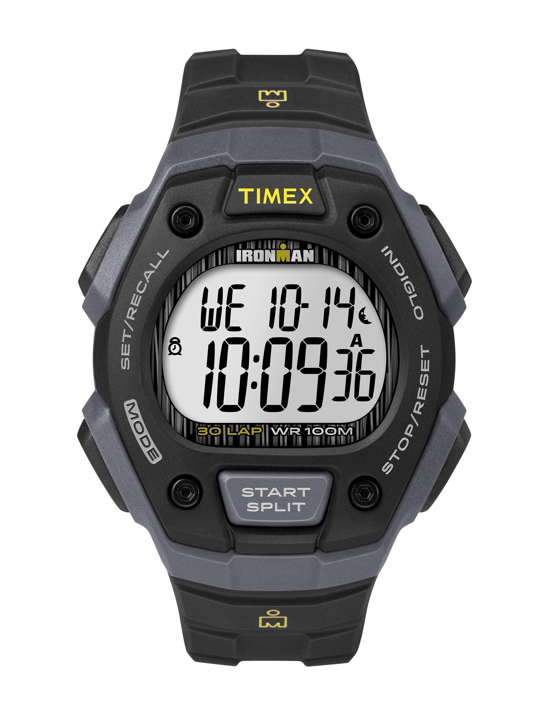 Timex Black Sport Watches