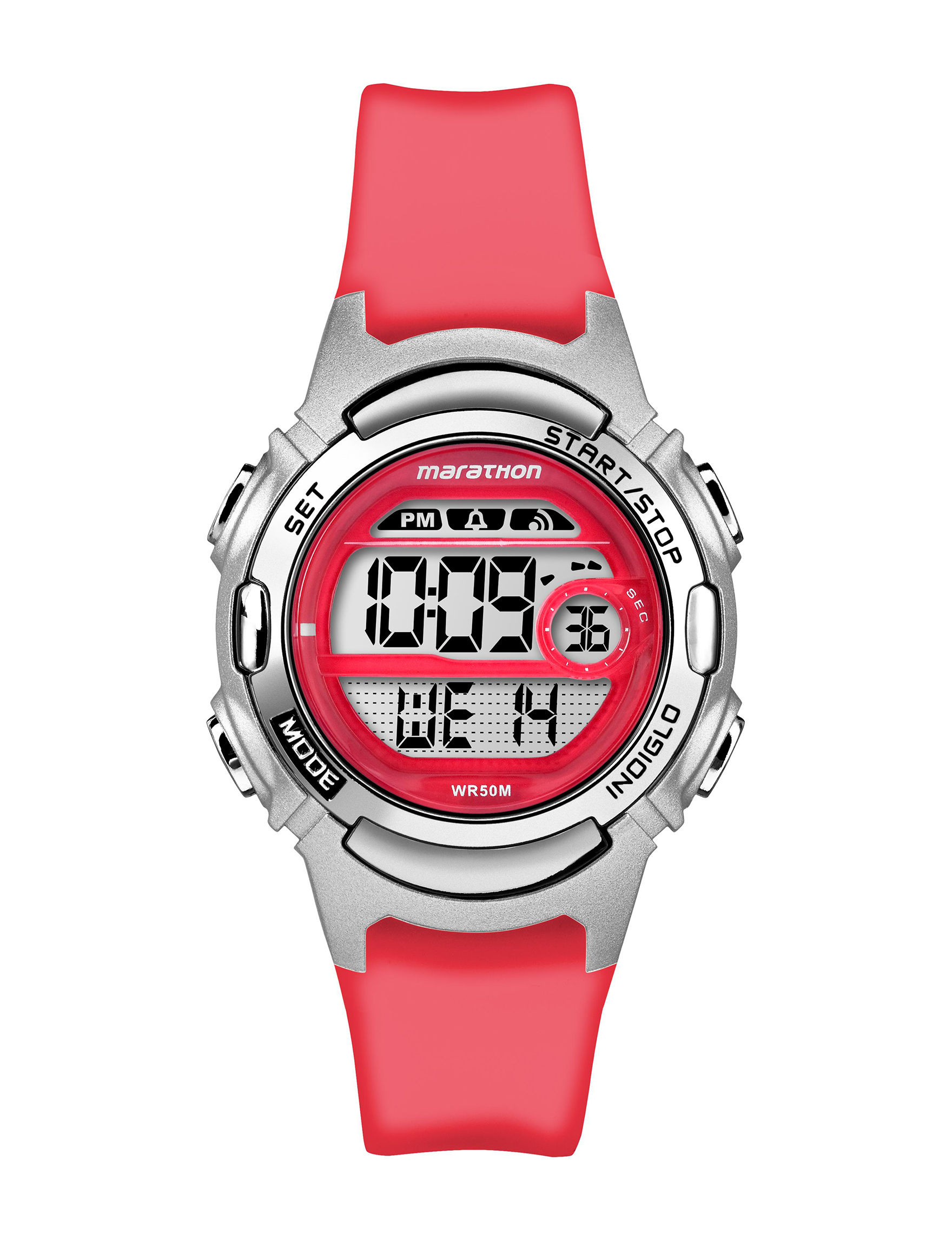 Timex Red Sport Watches Fitness Tech & Tracking