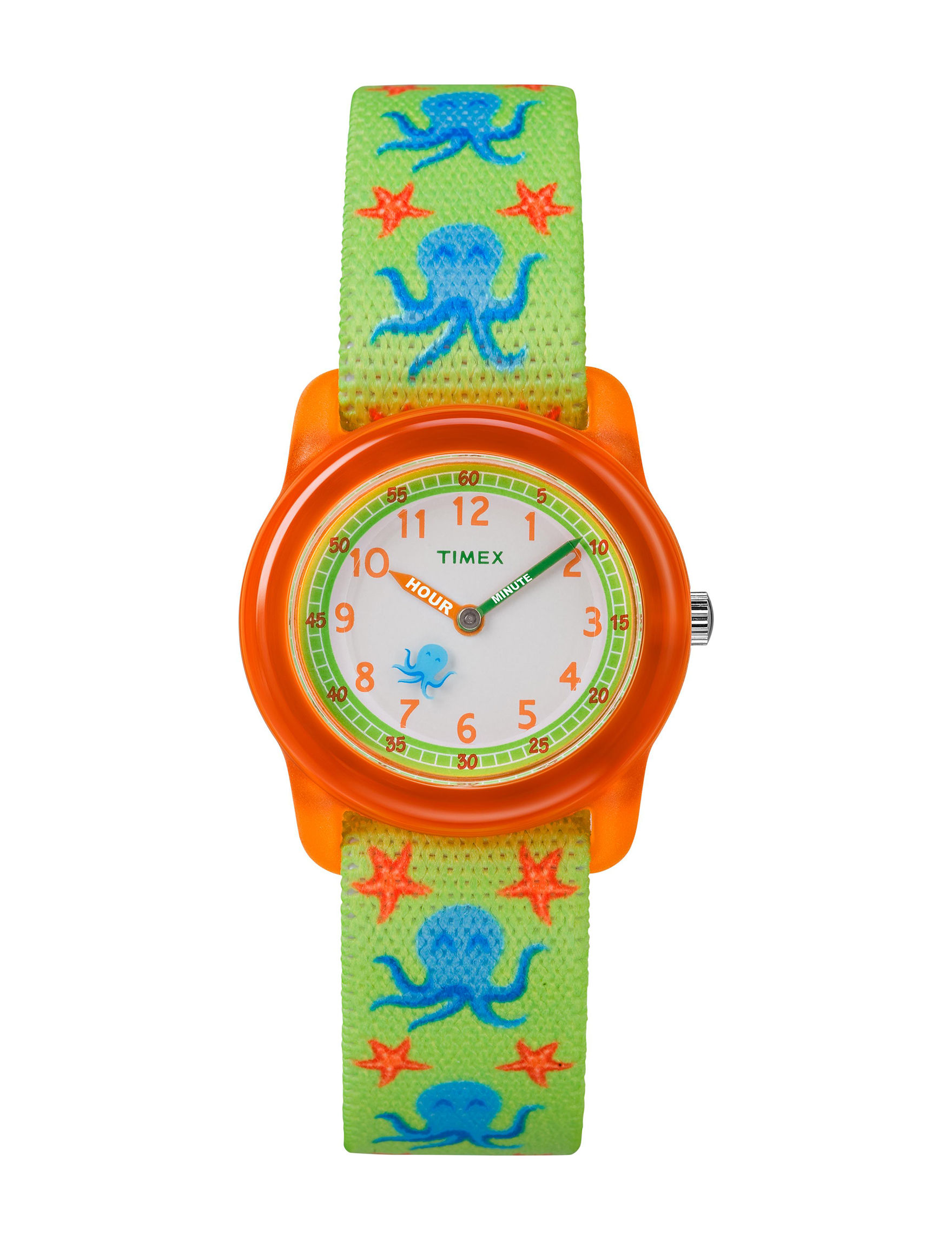 Timex Green Multi Fashion Watches