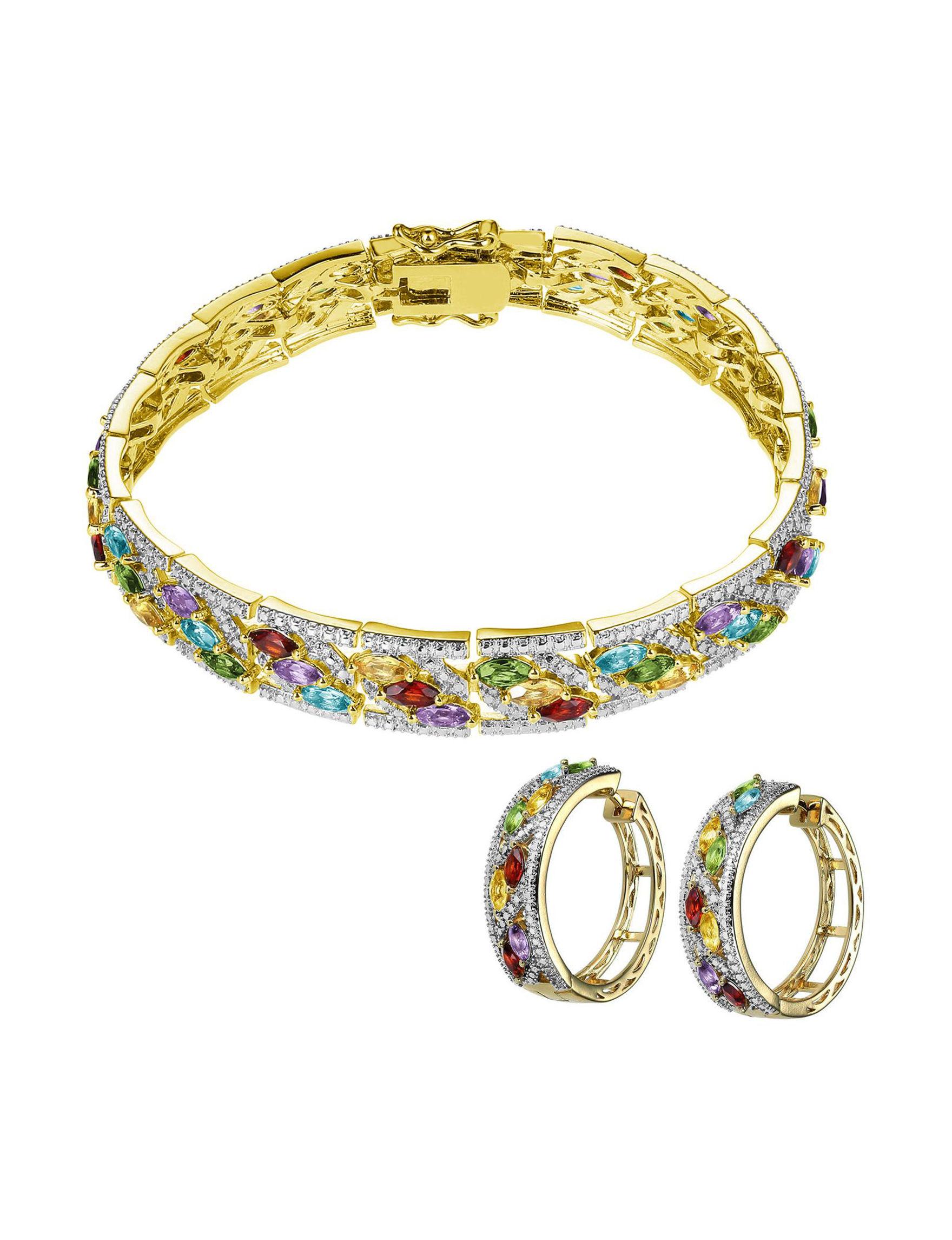 PAJ INC. Gold Hoops Bracelets Earrings Necklaces & Pendants Fine Jewelry