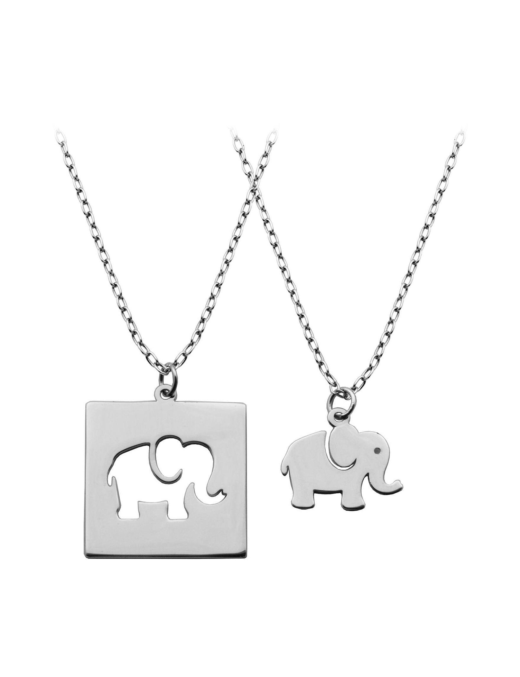 PAJ INC. White / Silver Necklaces & Pendants Fine Jewelry