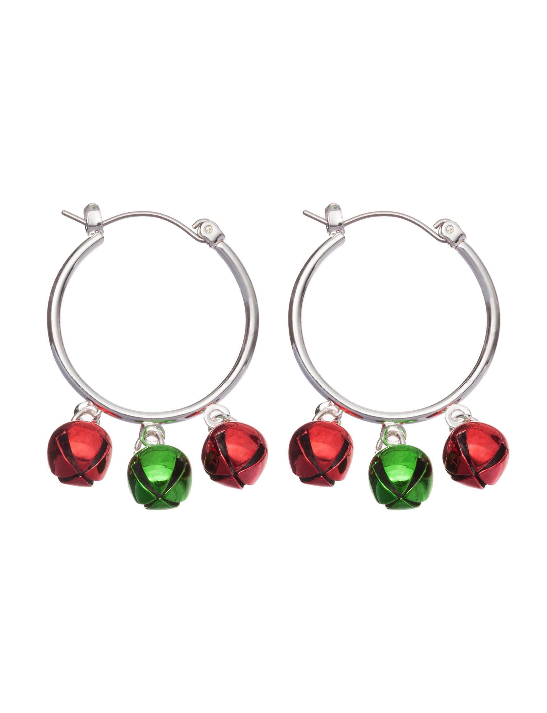 Hannah Multi Hoops Earrings Fashion Jewelry