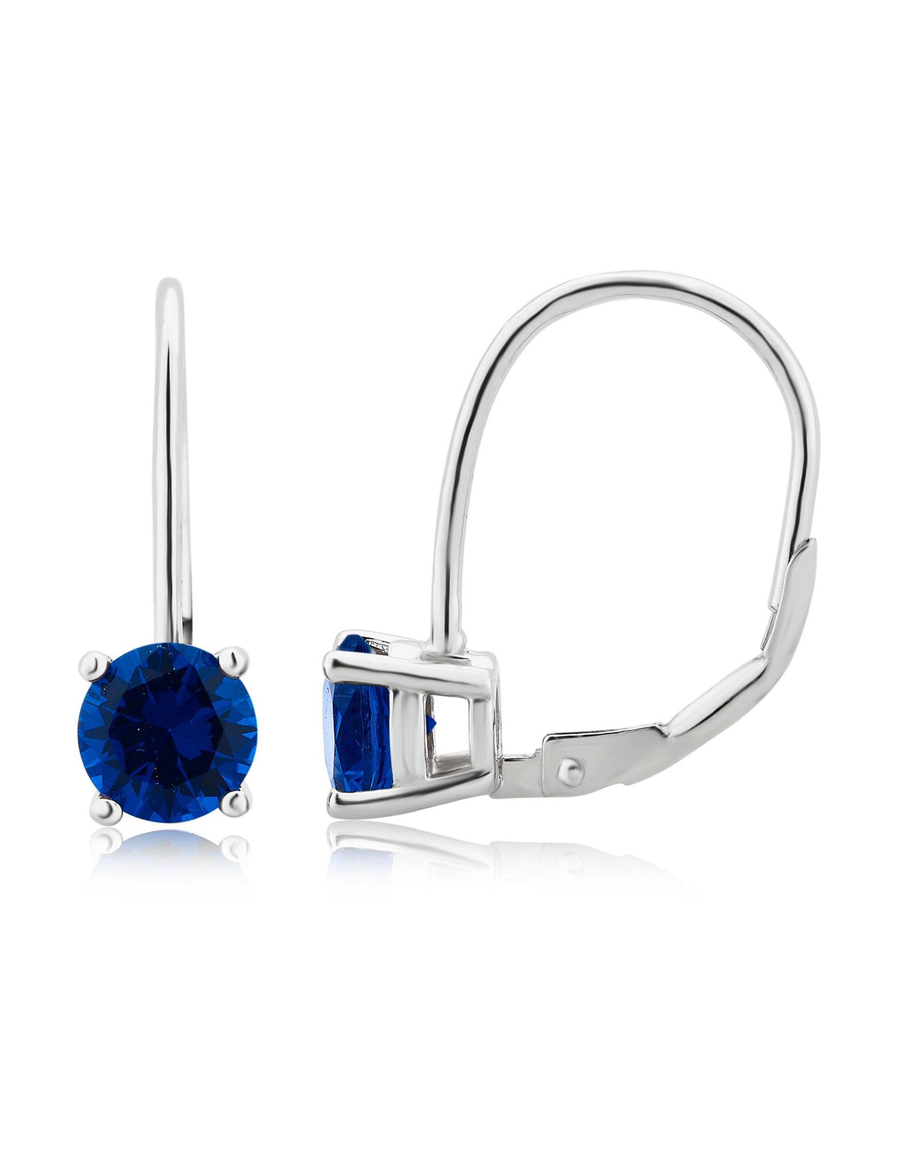Silver Hoops Earrings Fine Jewelry