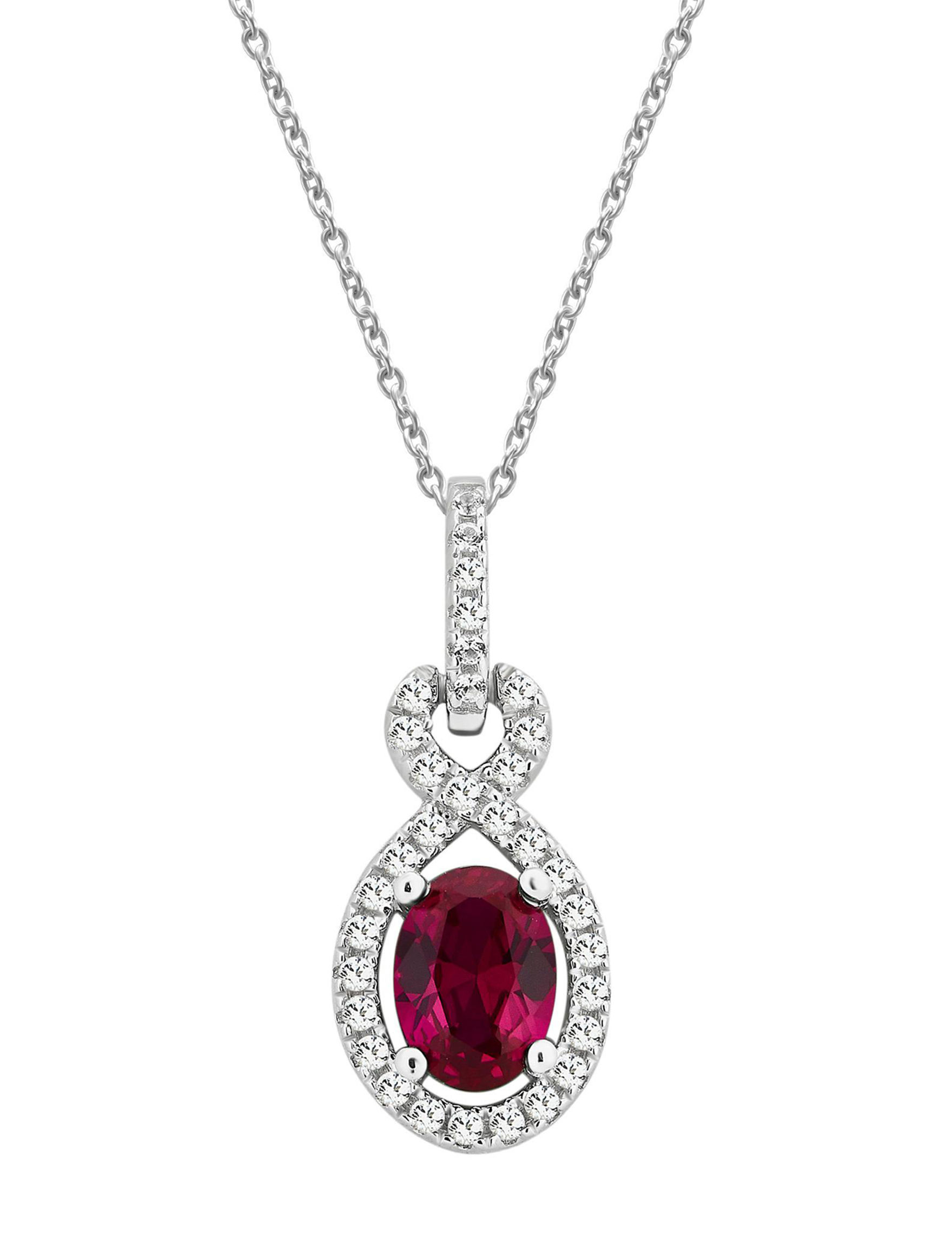 Ruby Necklaces & Pendants Fine Jewelry
