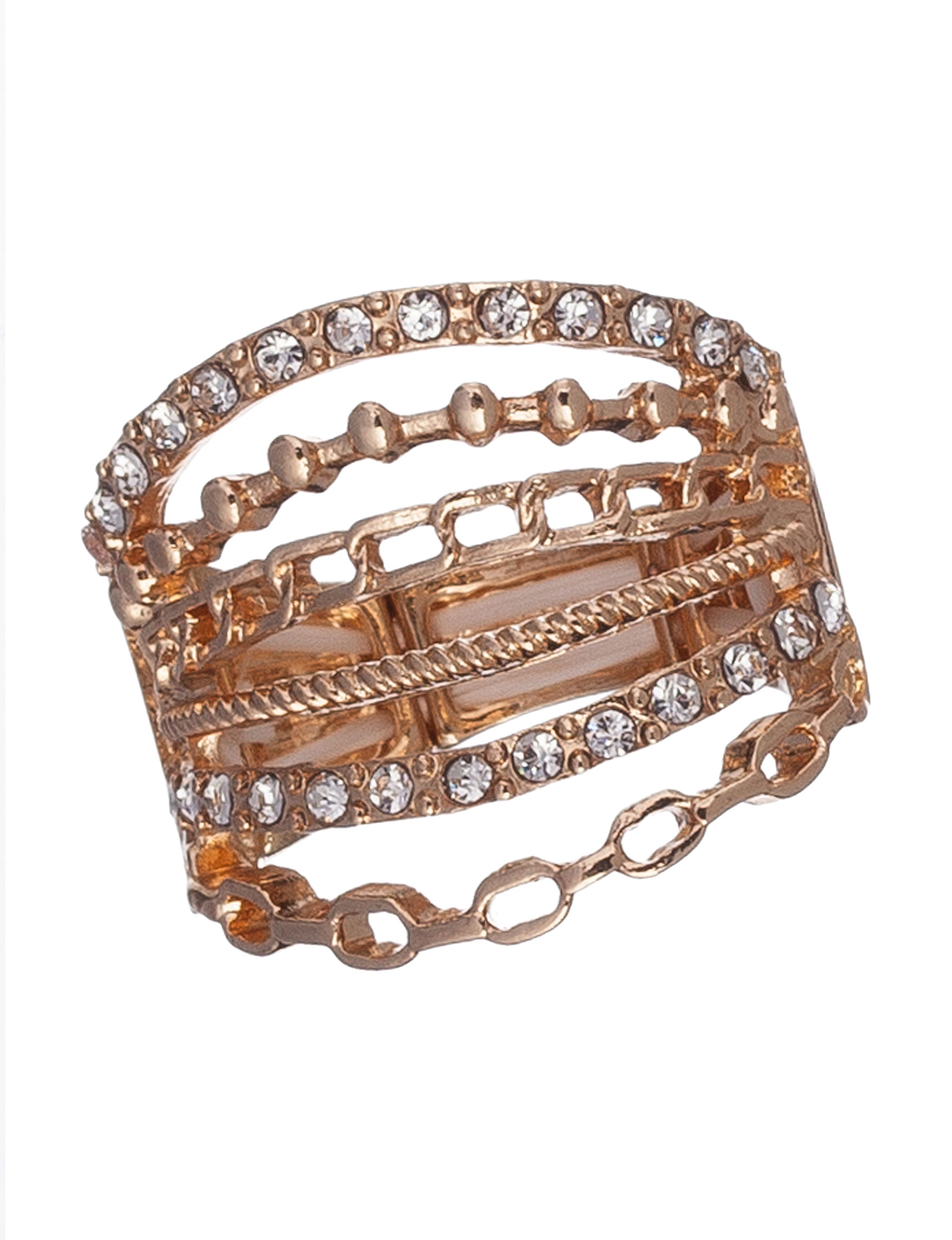 Hannah Gold Rings Fashion Jewelry
