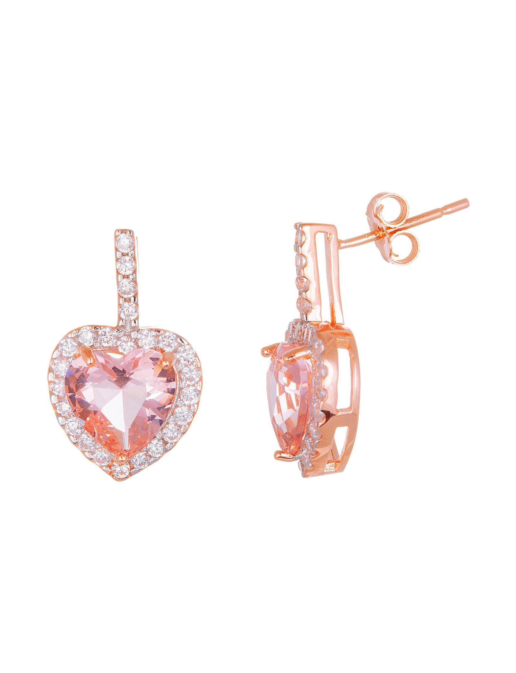 NES Rose Gold Studs Earrings Fine Jewelry