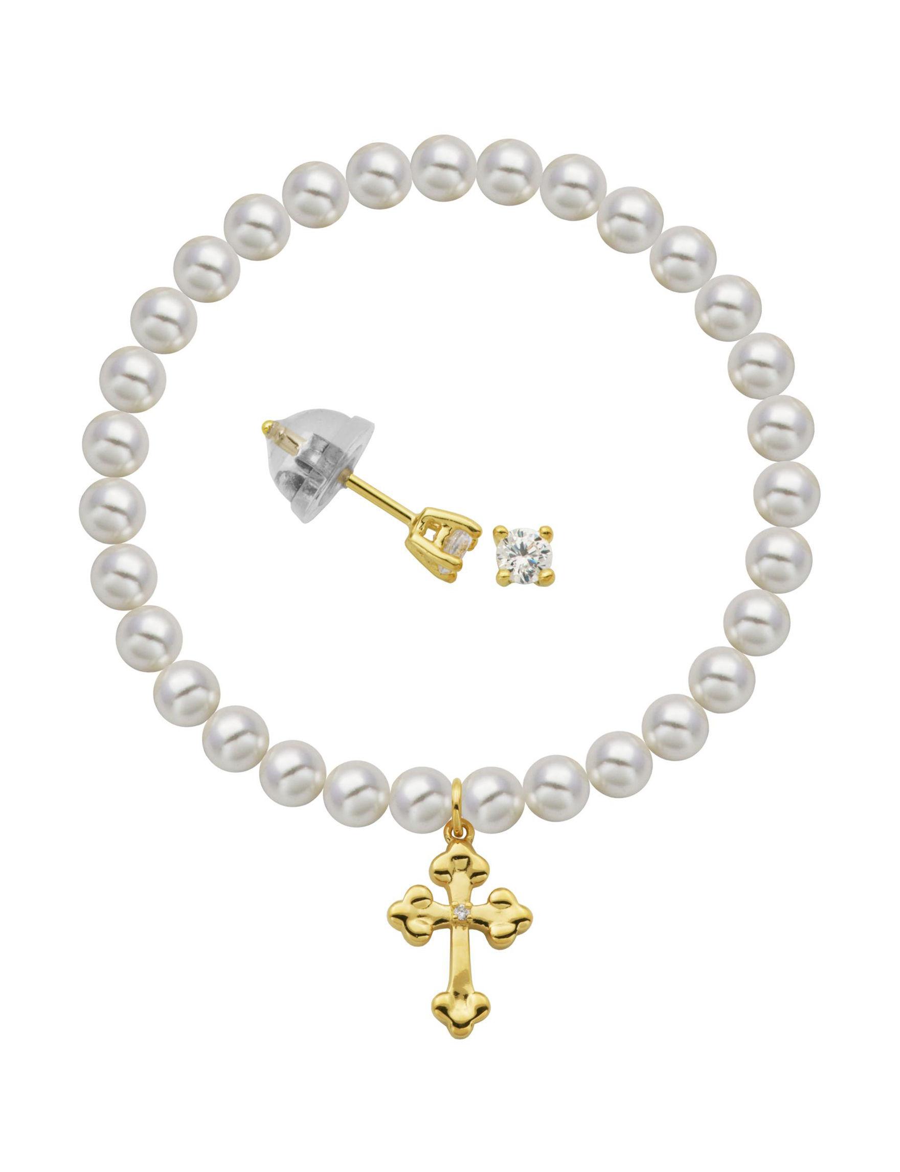 PAJ INC. Gold Studs Bracelets Earrings Fine Jewelry