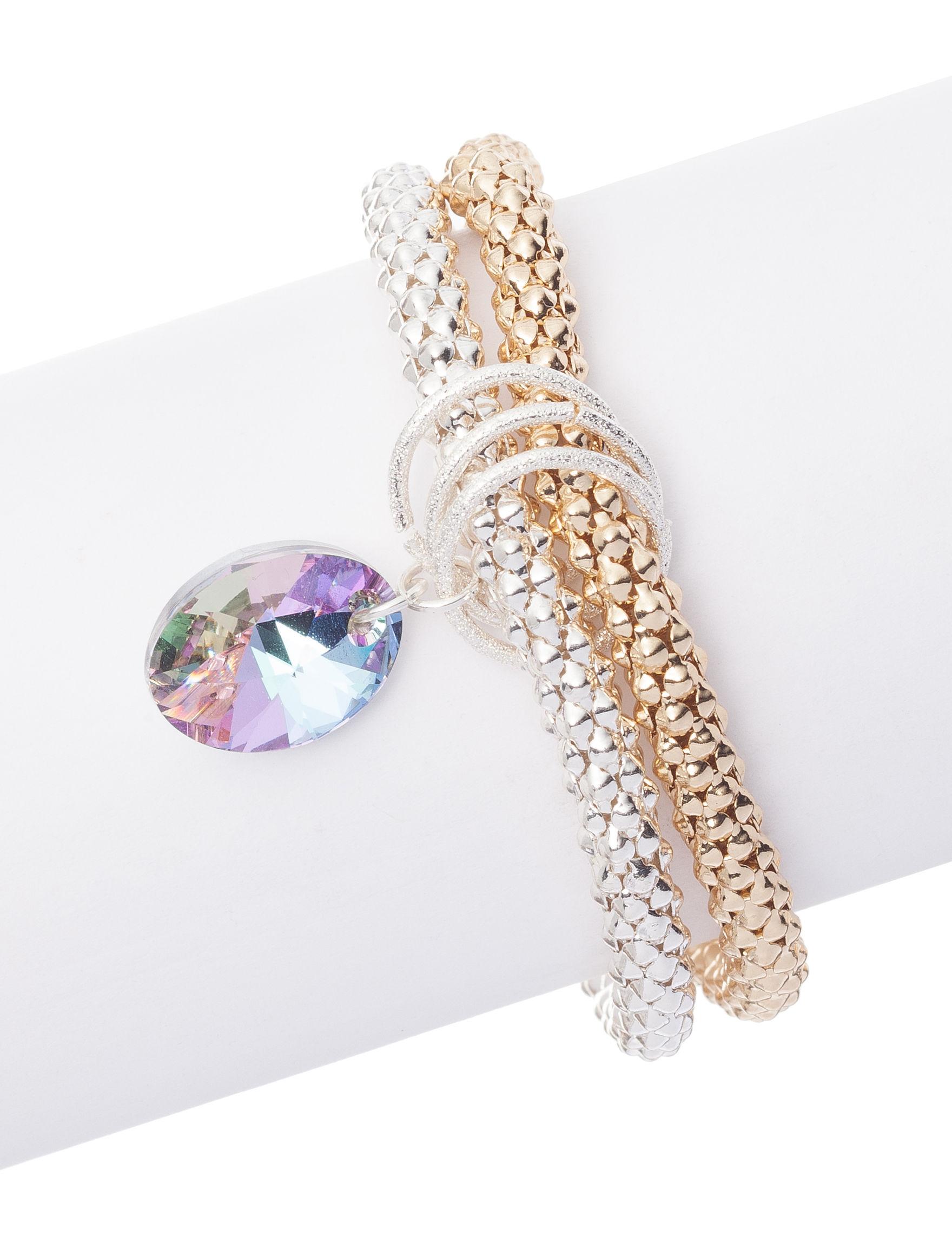 L & J Silver / Gold Bracelets Fine Jewelry