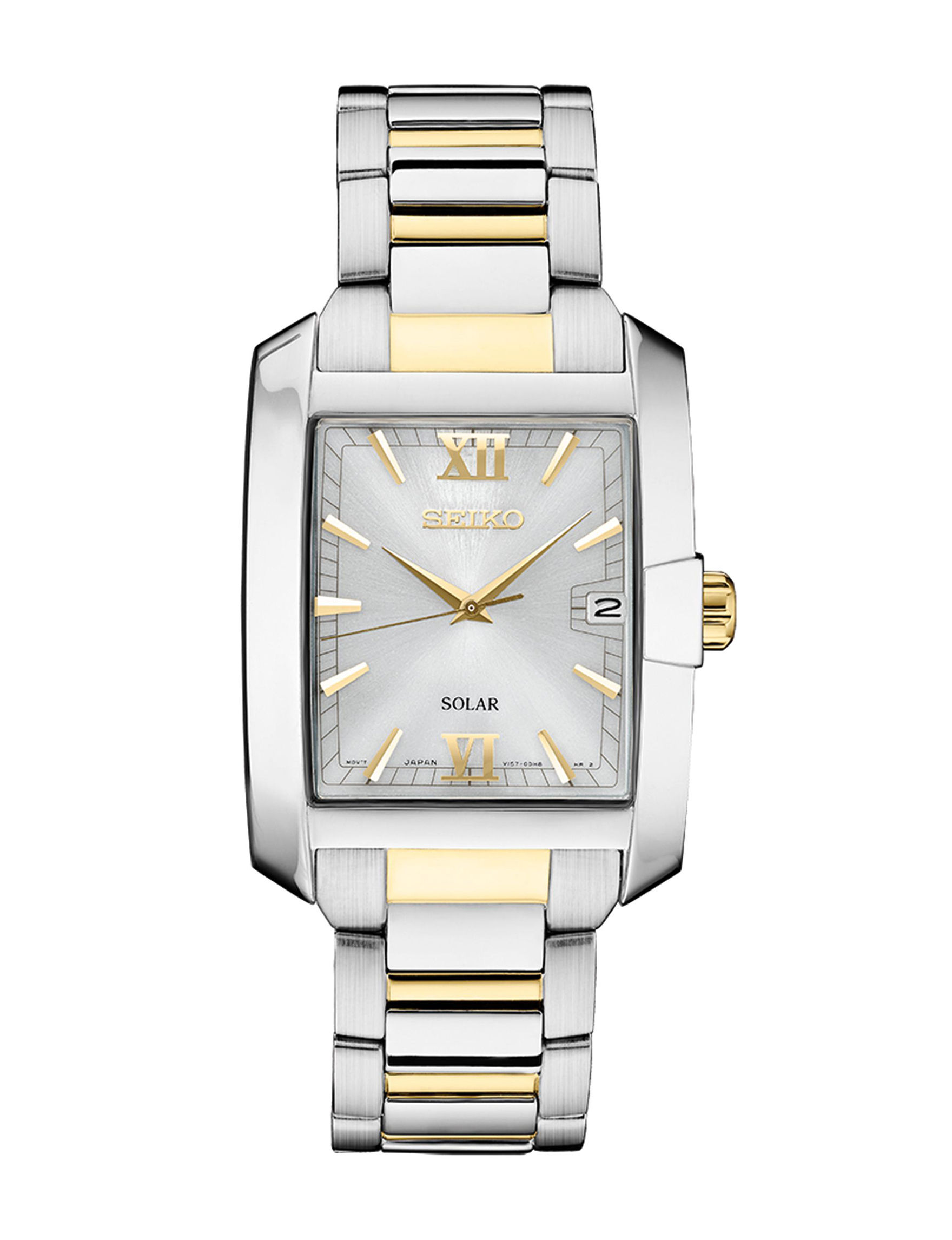Seiko Silver / Gold Fashion Watches Accessories