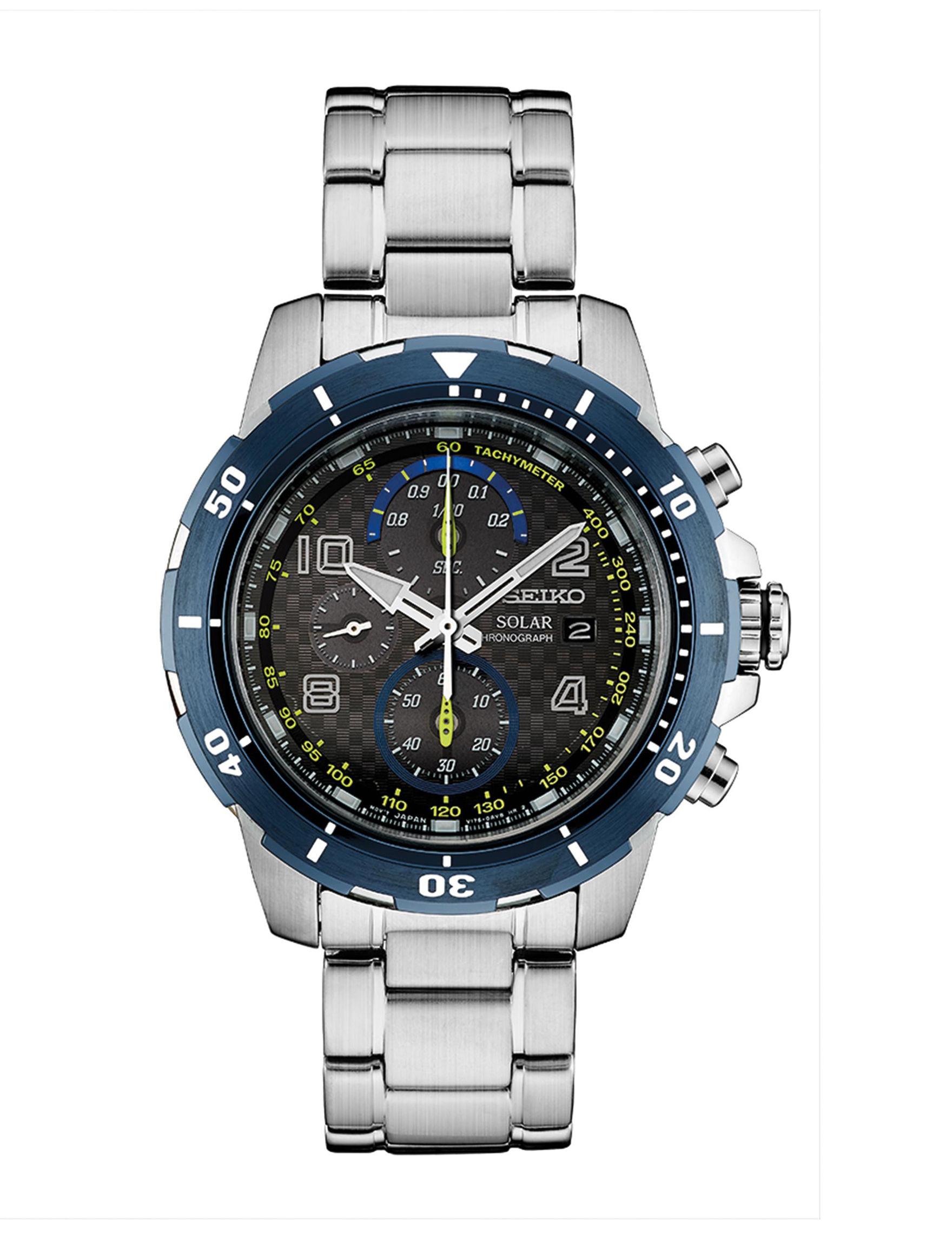 Seiko Silver Sport Watches Accessories