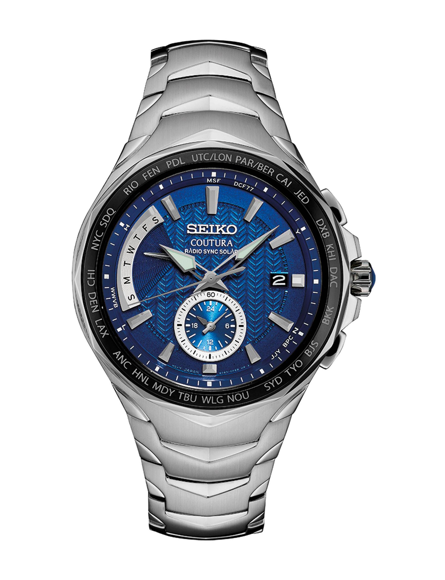Seiko Silver Fashion Watches Accessories
