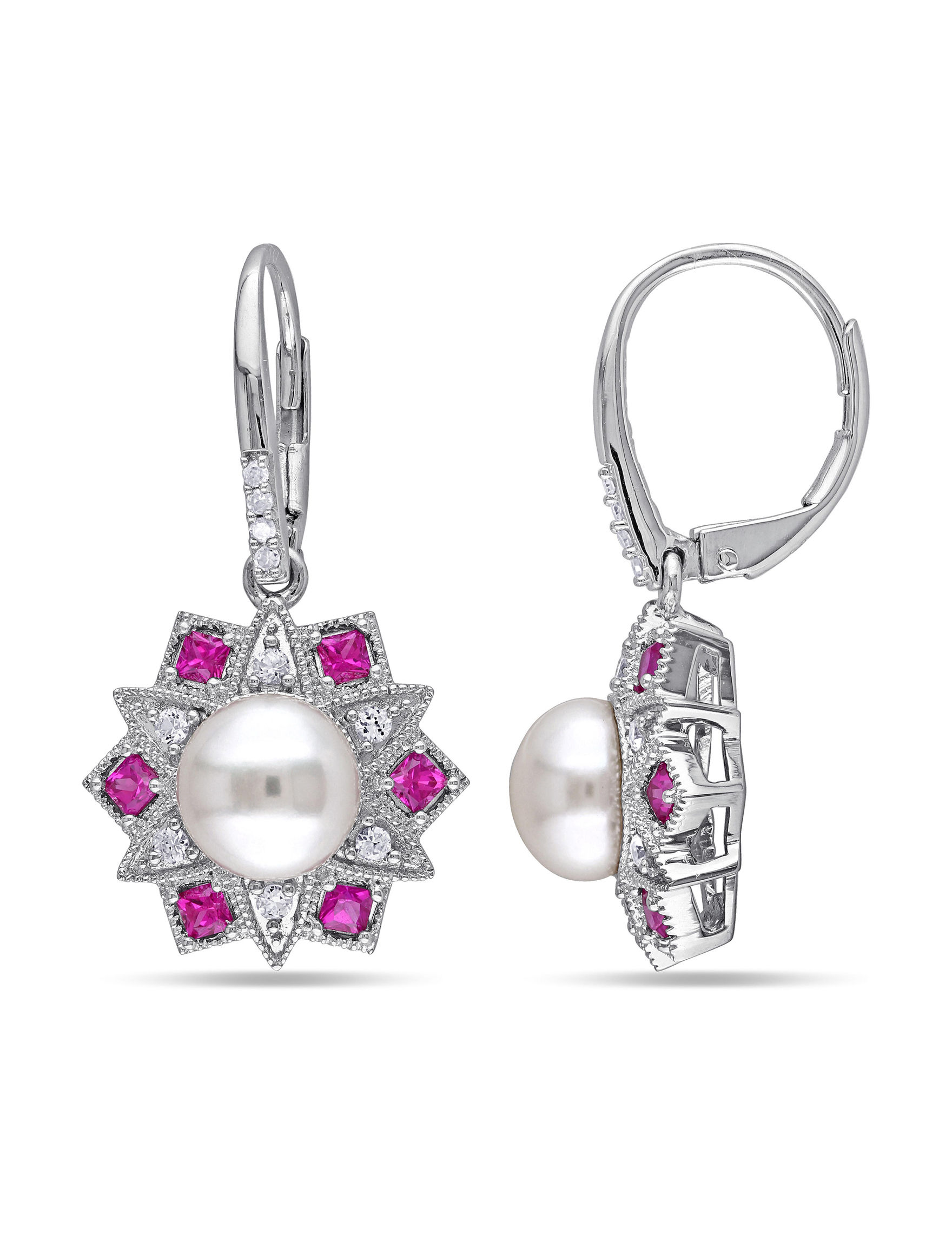 Michiko Silver Drops Earrings Fine Jewelry