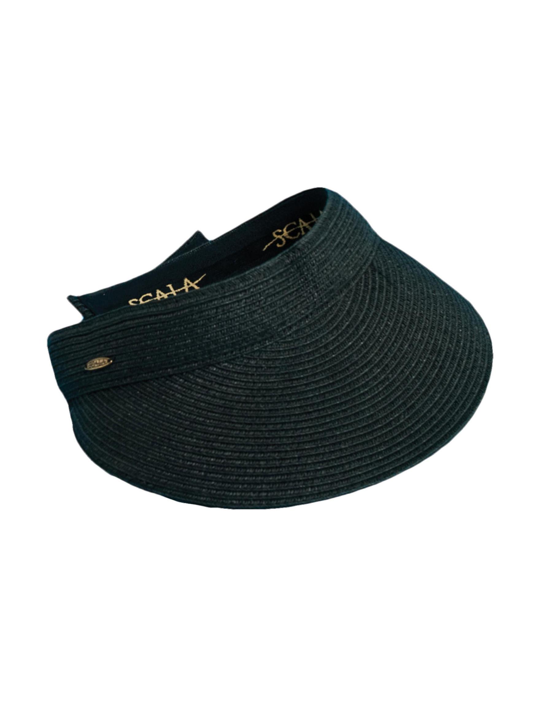 Scala Black Hats & Headwear
