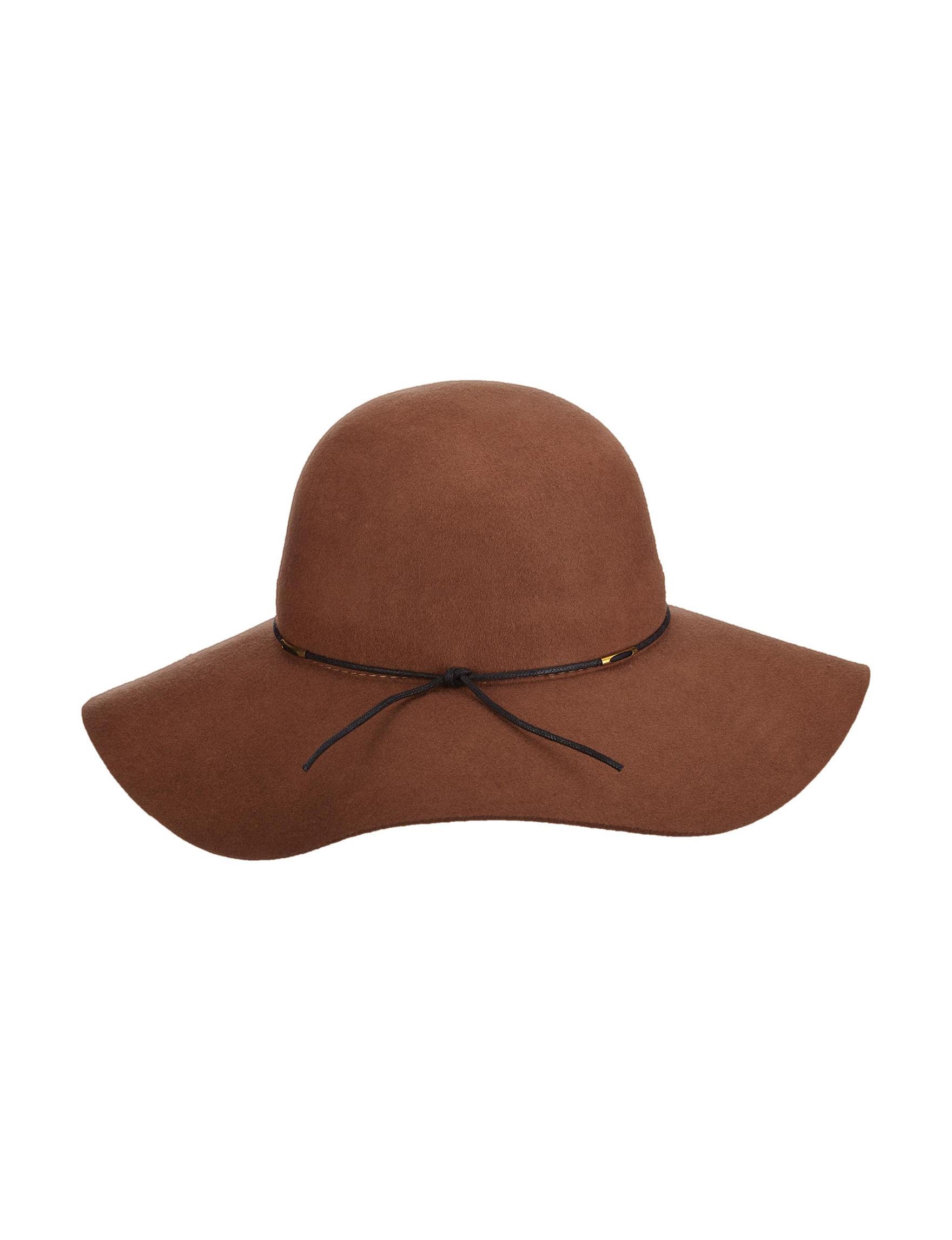 Scala Pecan Hats & Headwear