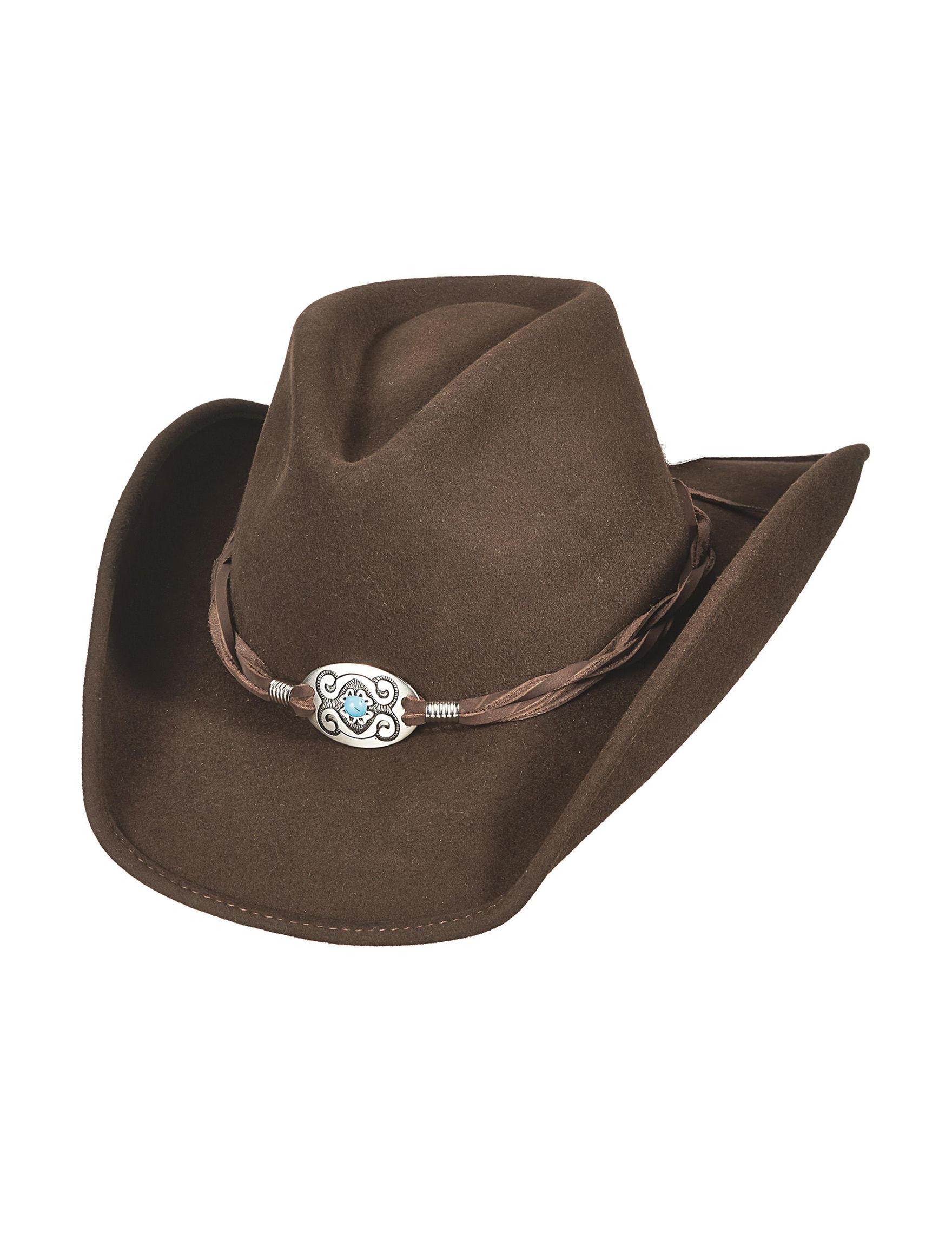 Scala Chocolate Hats & Headwear