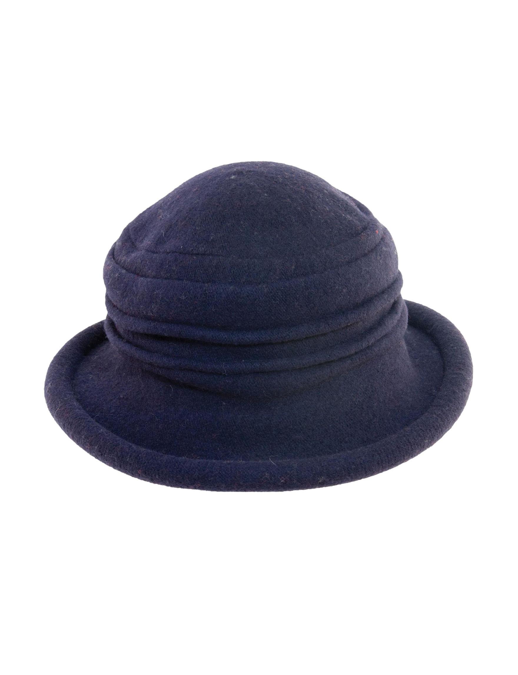 Scala Navy Hats & Headwear