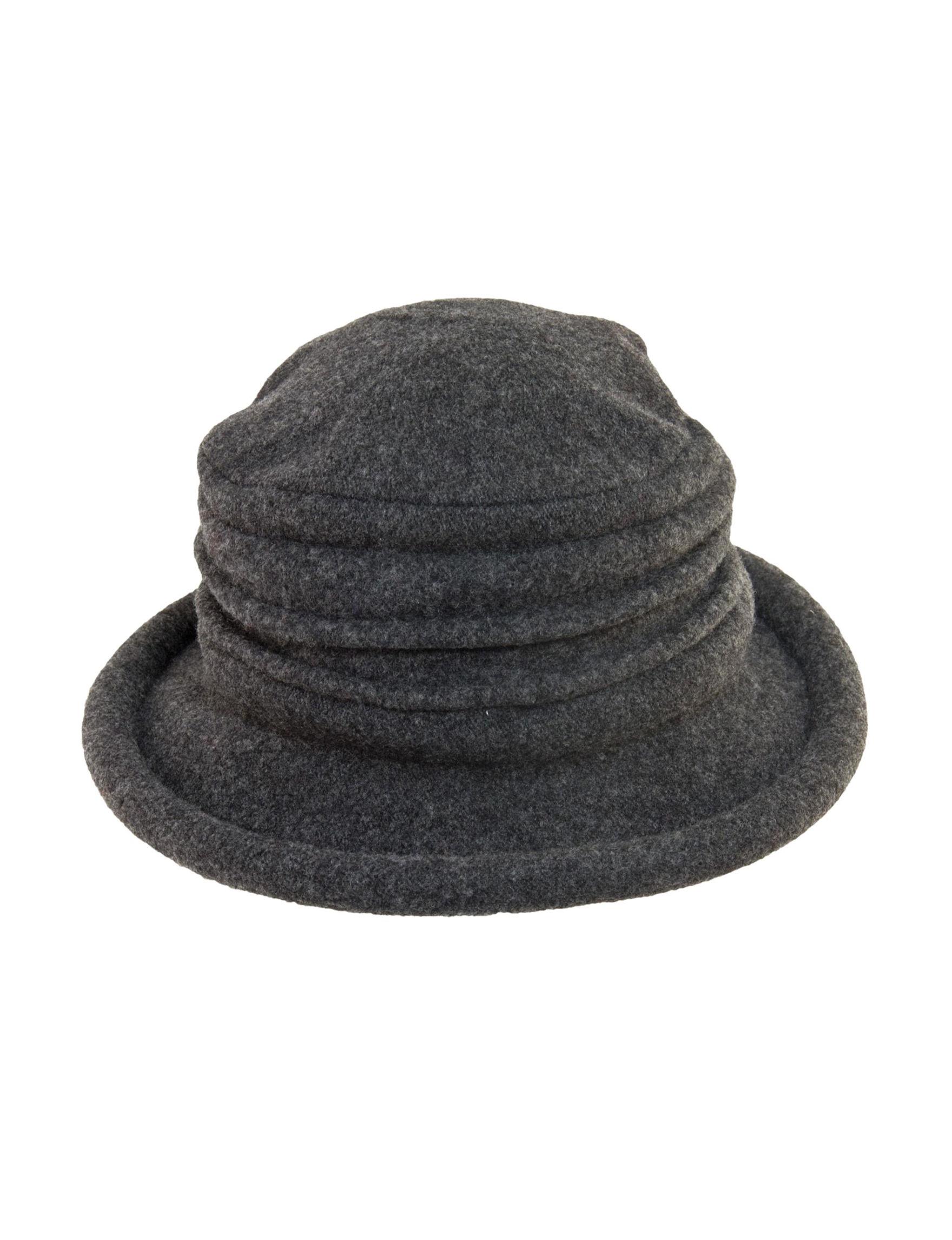 75b431f1b01 Scala Wool Knit Cloche Hat