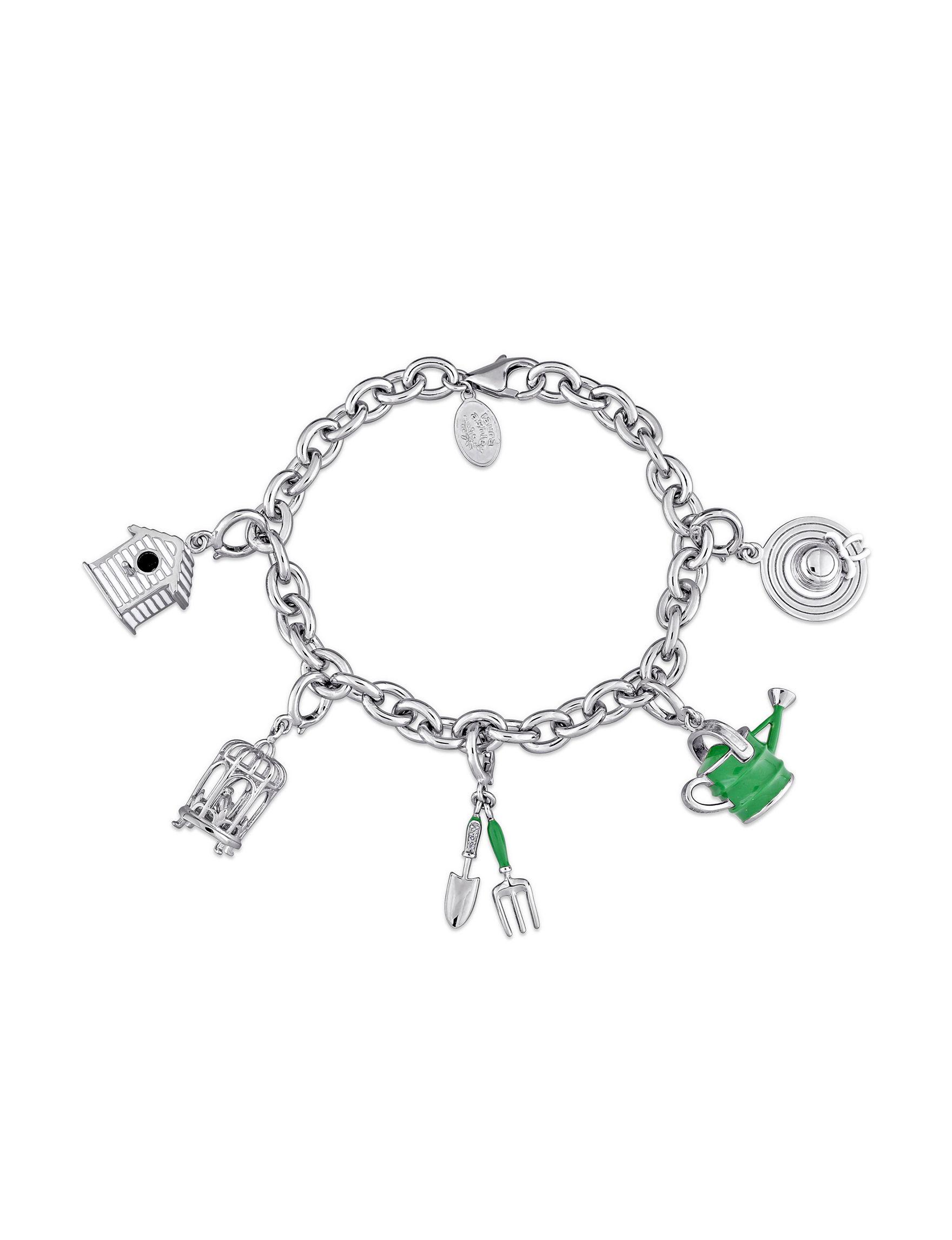 Laura Ashley Silver Bracelets Fine Jewelry