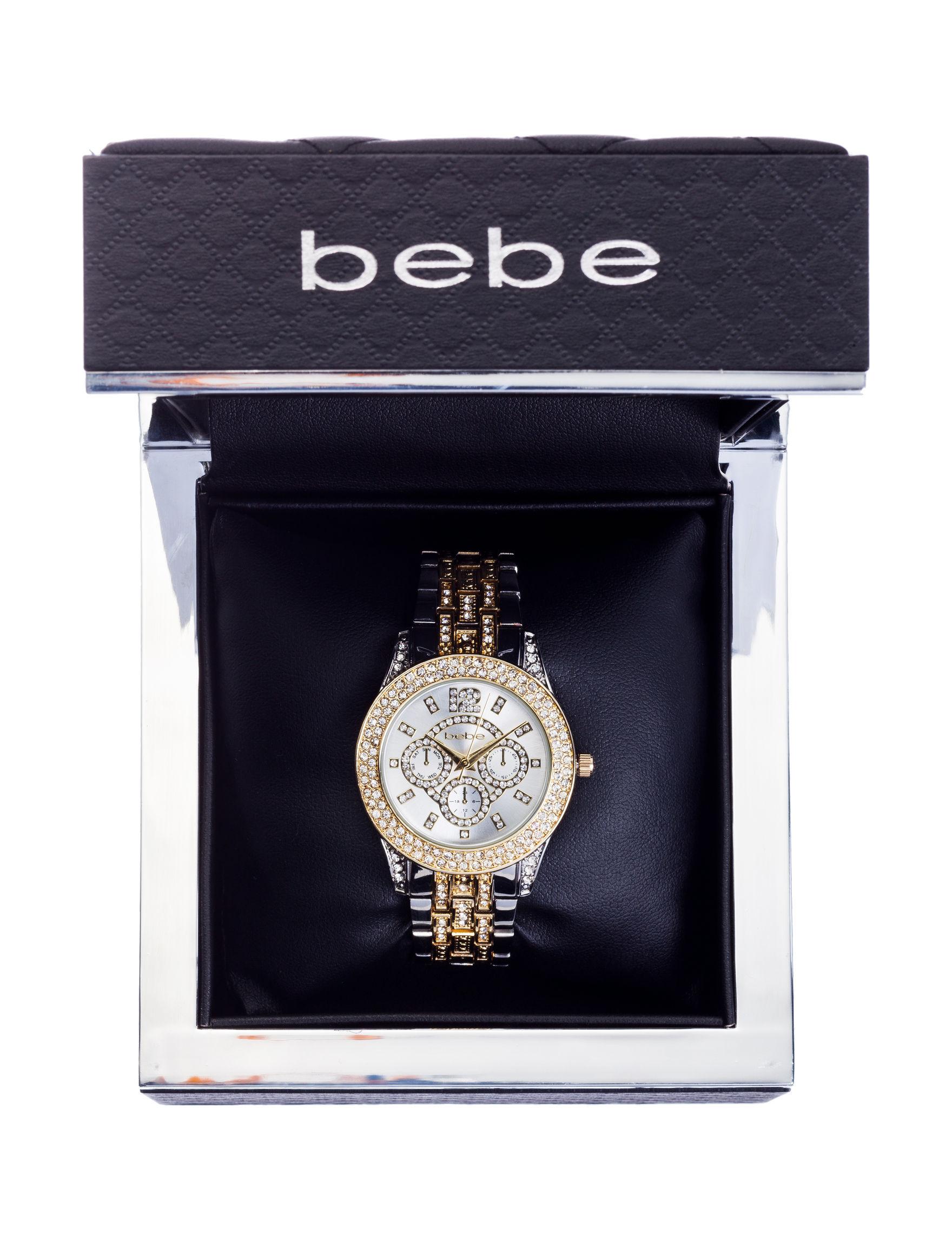 Bebe Two Tone Fashion Watches