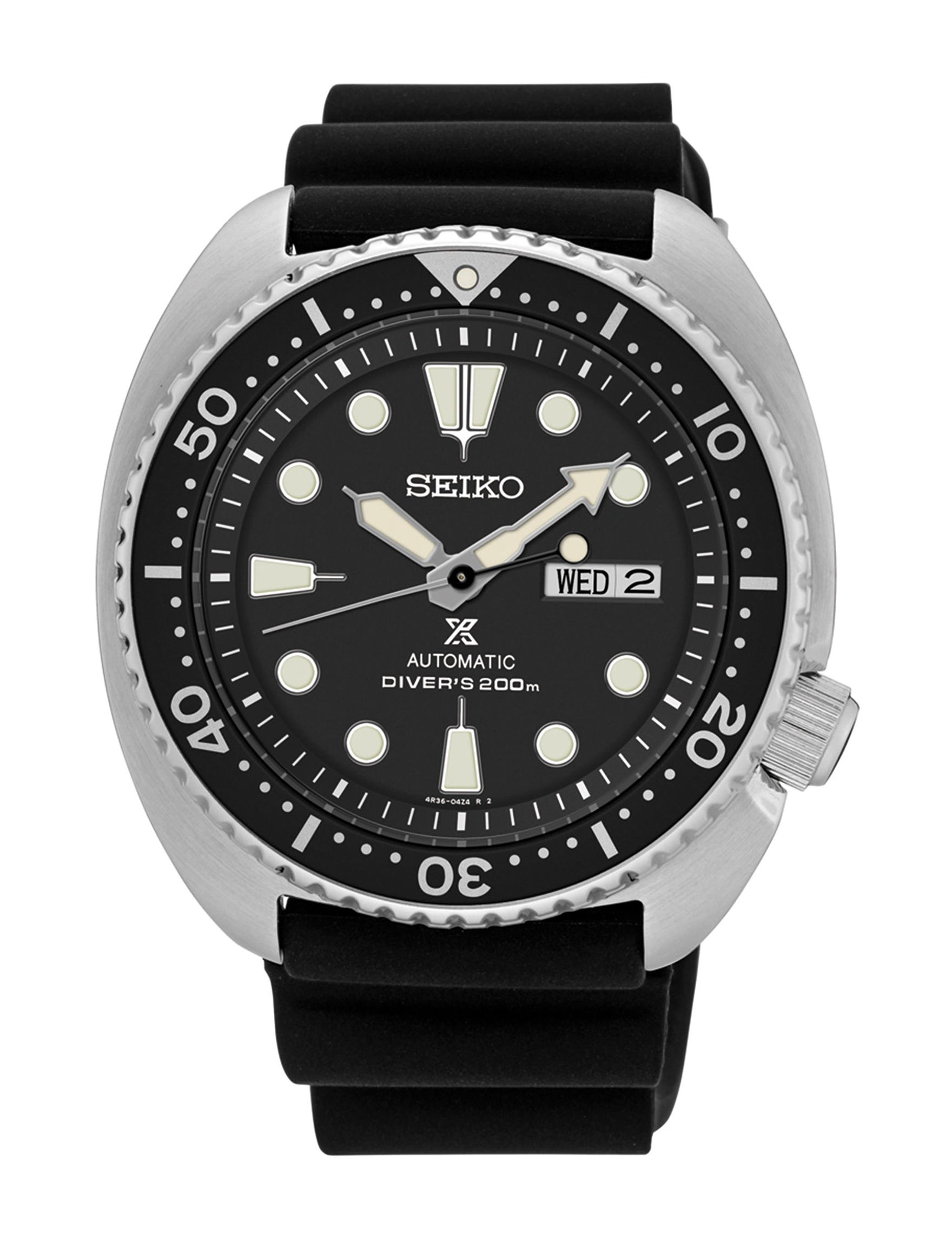 Seiko Black Fashion Watches