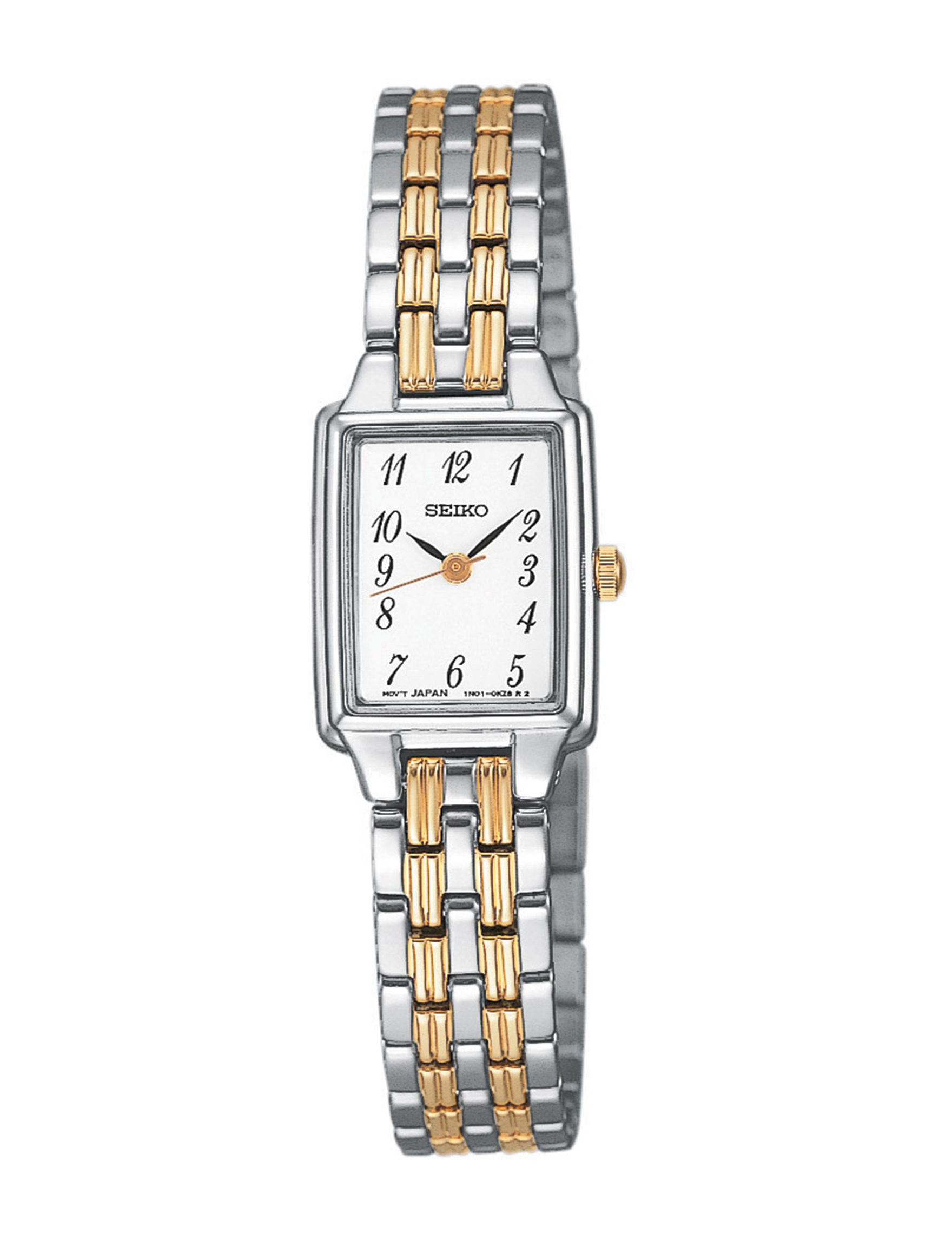 Seiko Two Tone Fashion Watches