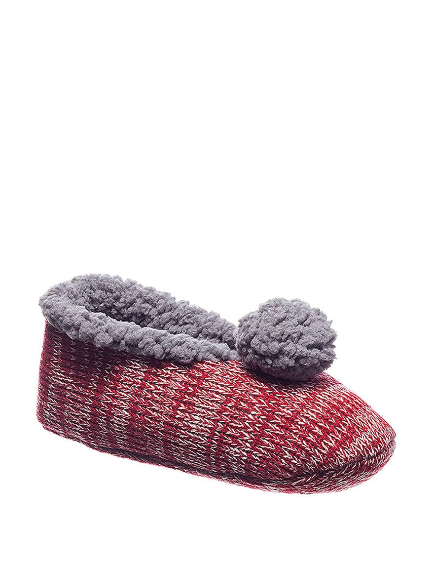Hanes Pink Slipper Socks
