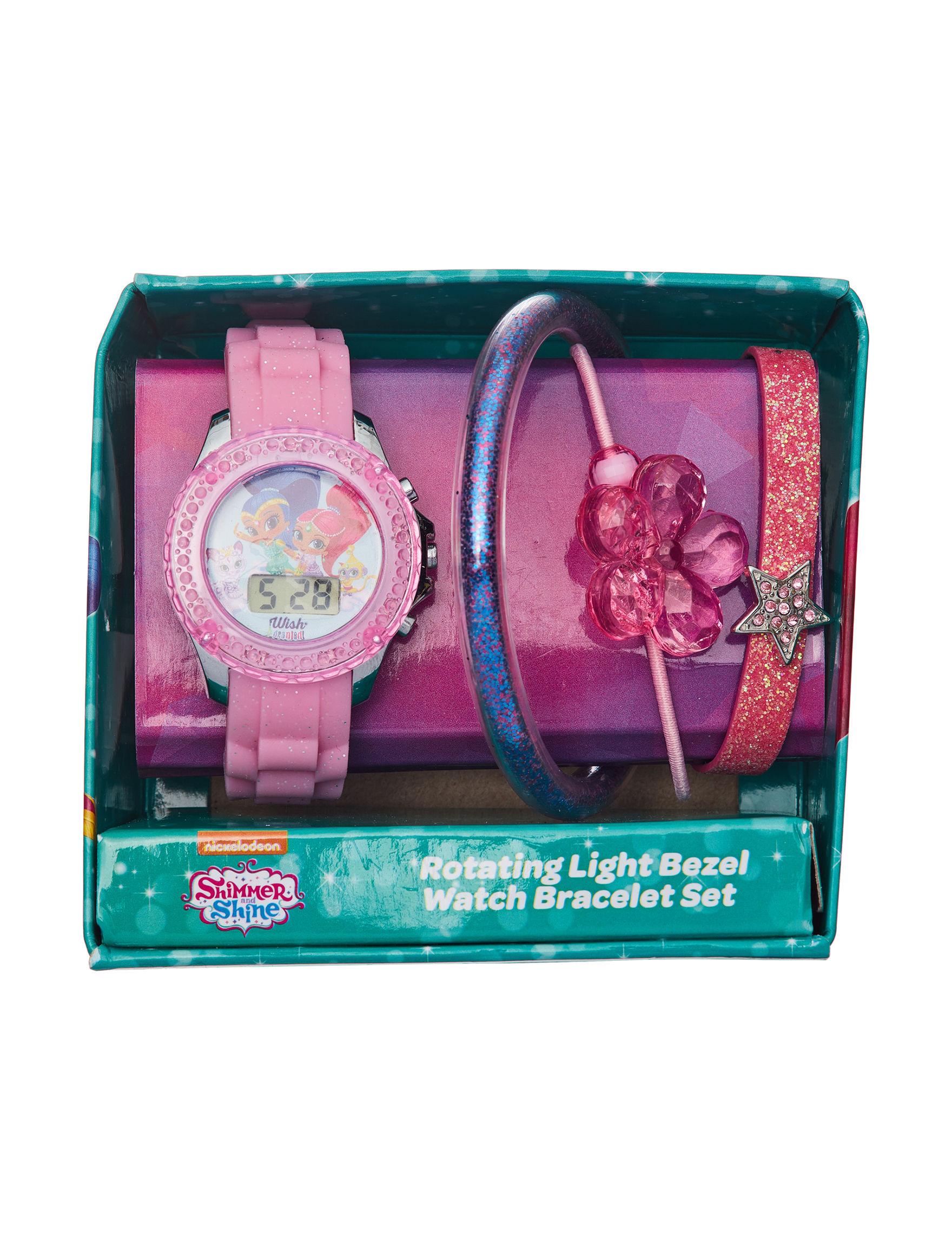 Licensed Pink Sport Watches