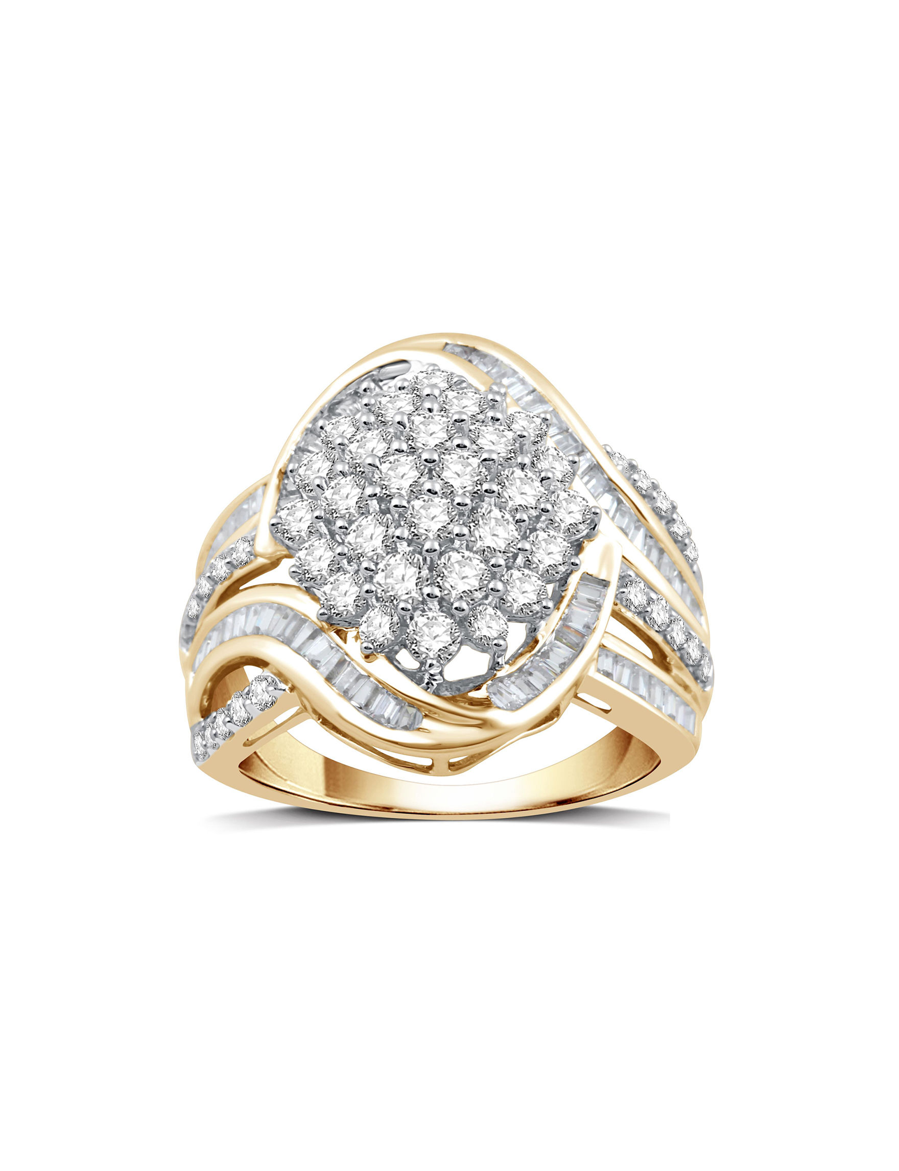 DeCarat Gold Rings Fine Jewelry
