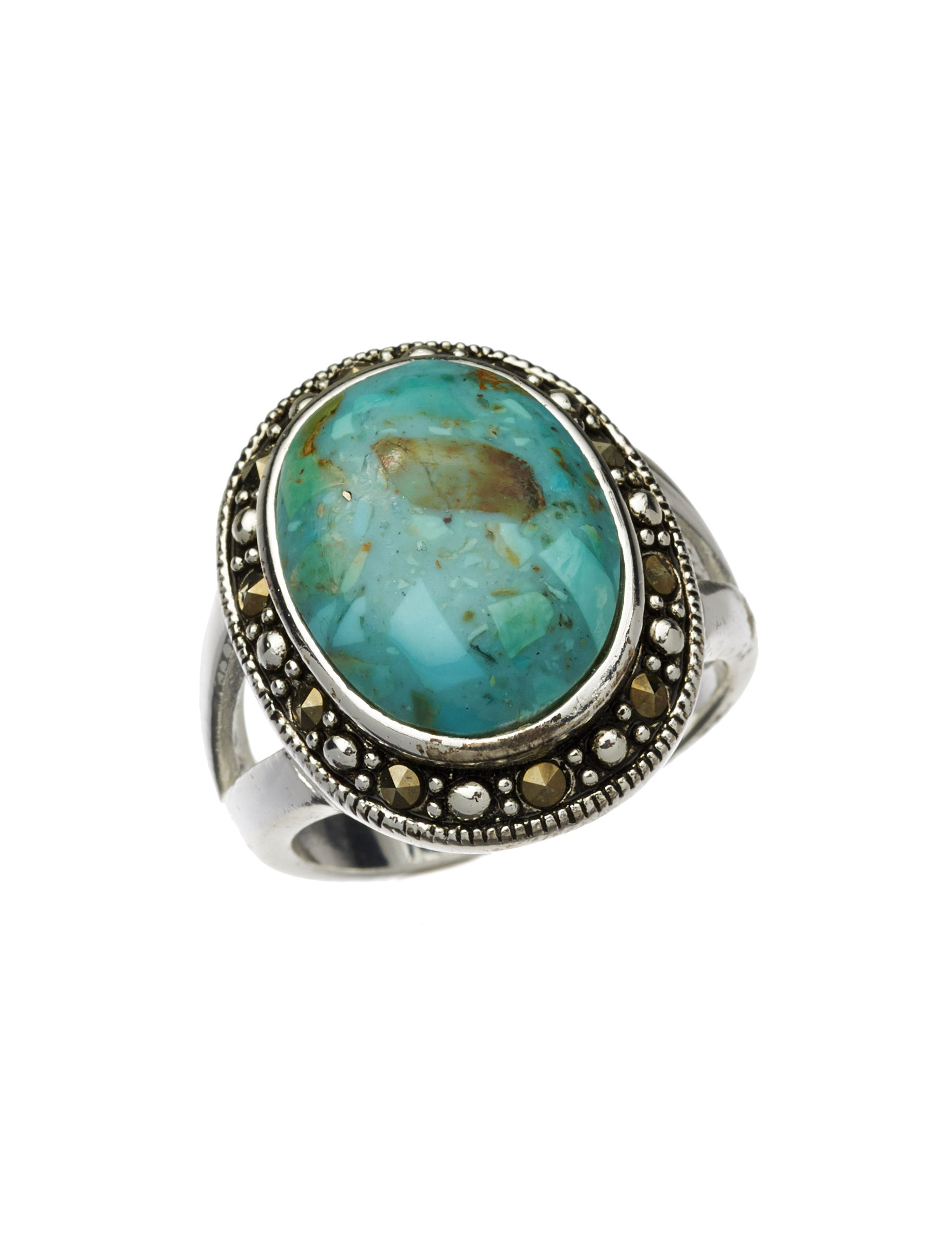 Marsala Turquoise Rings Fine Jewelry