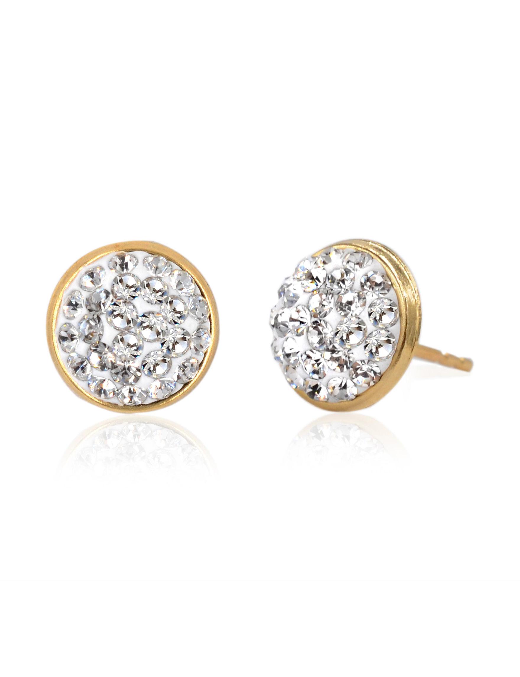 JTS Gold Earrings Fine Jewelry
