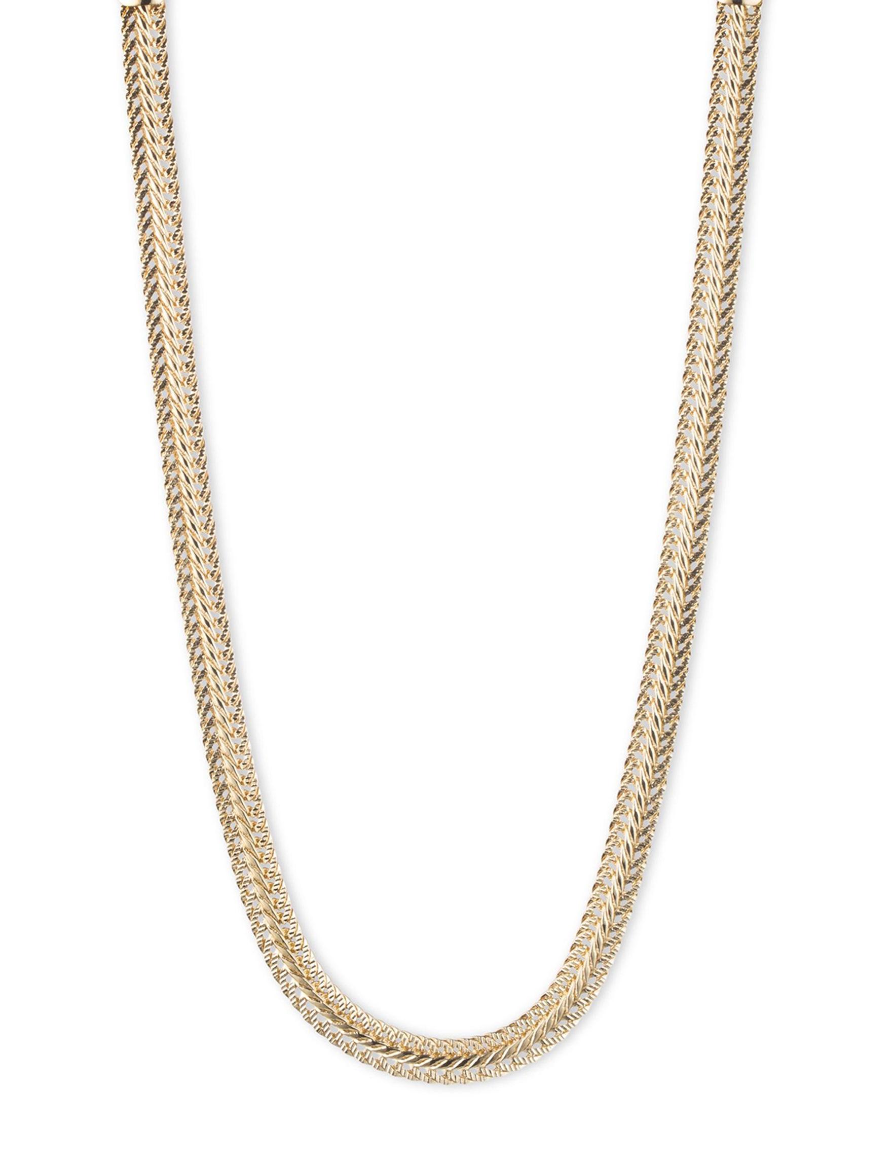Anne Klein Gold Necklaces & Pendants Fashion Jewelry