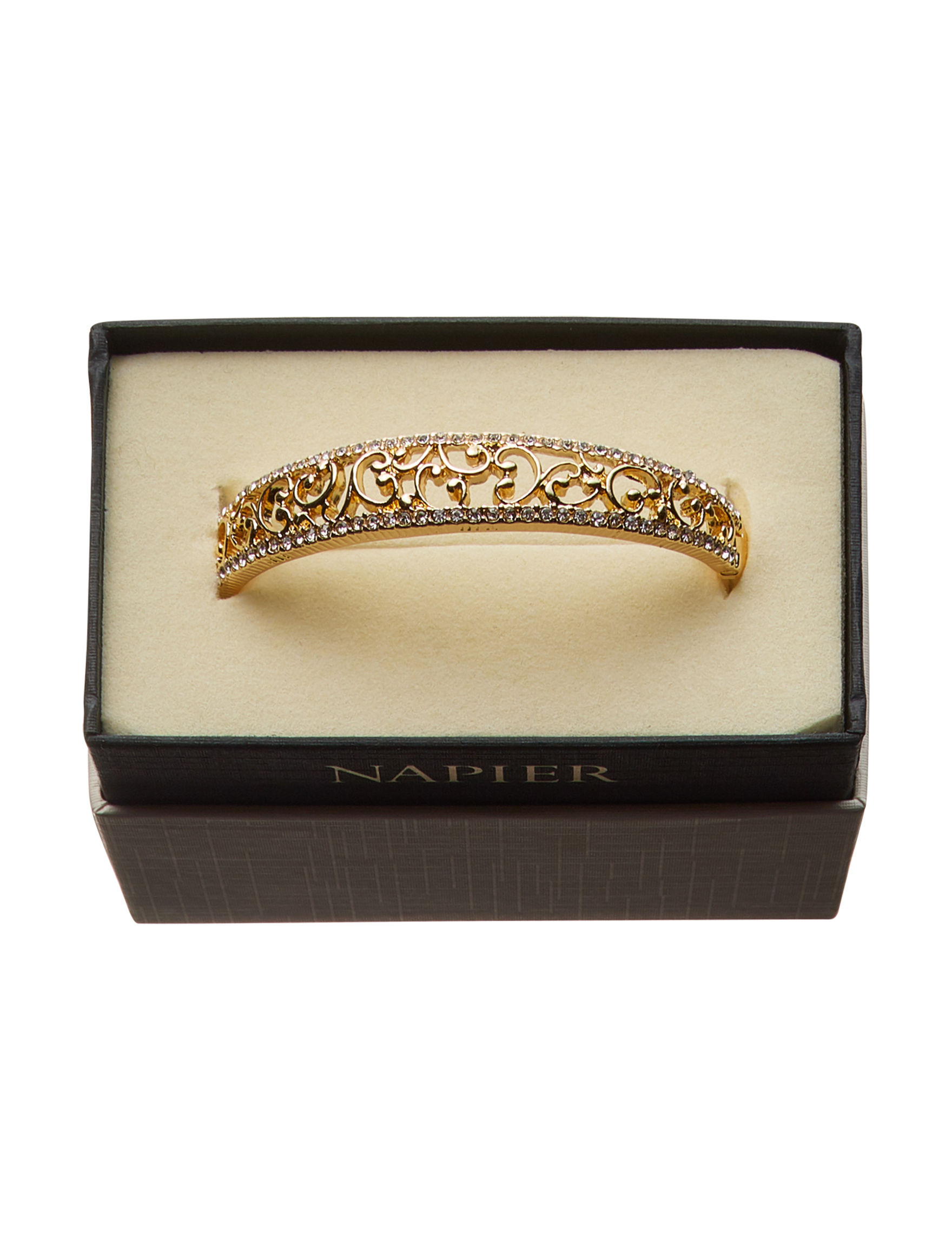 Napier Gold Bracelets Fashion Jewelry