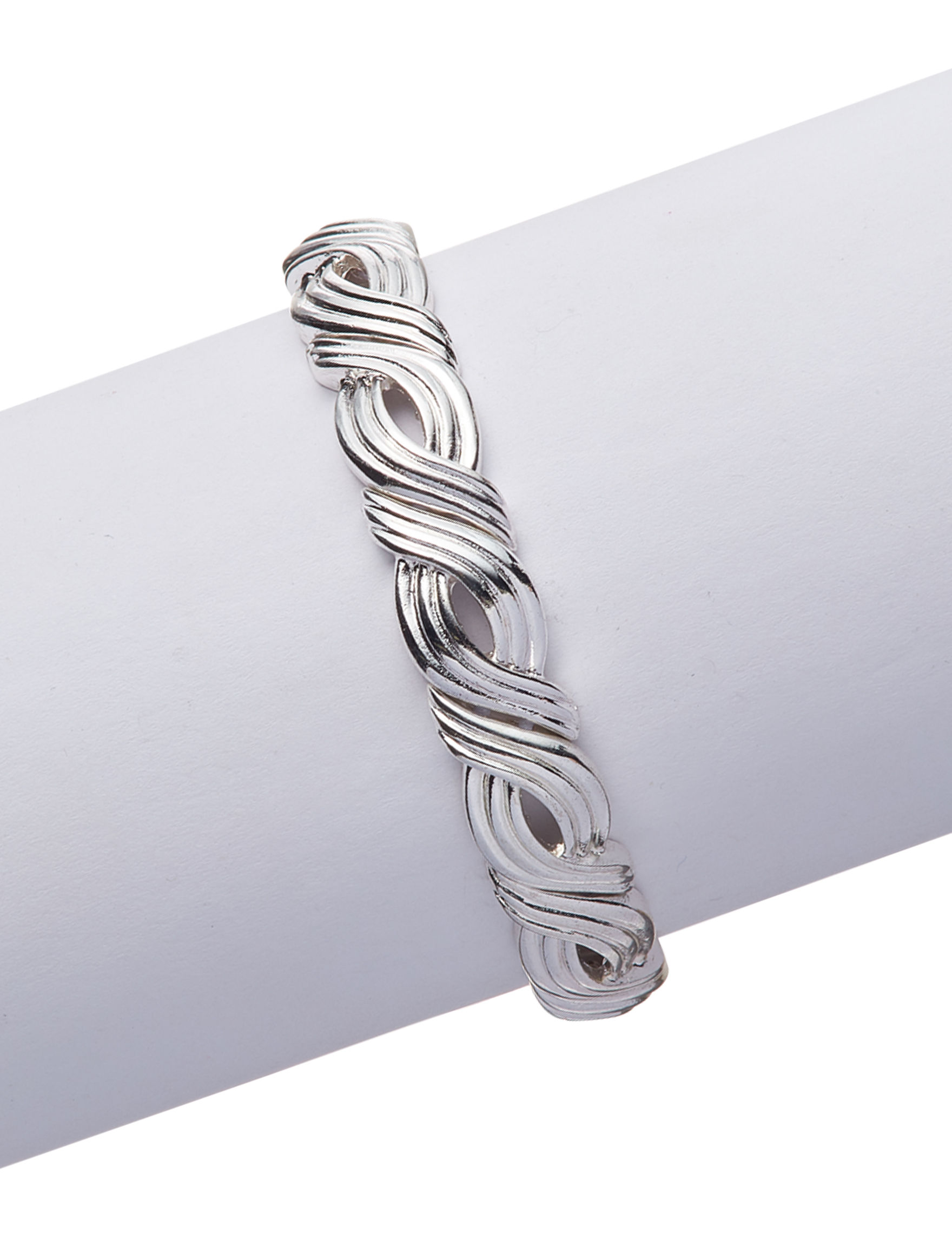 Napier Silver Bracelets Fashion Jewelry