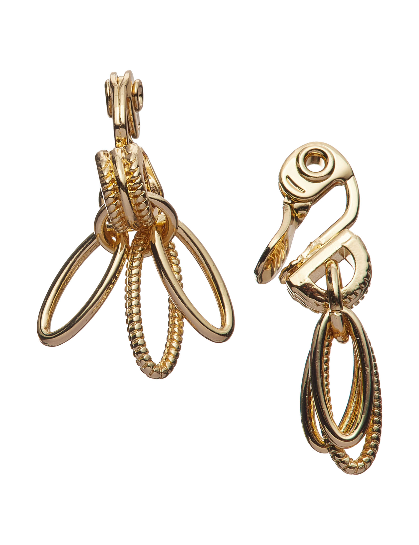 Napier Gold Drops Earrings Fashion Jewelry