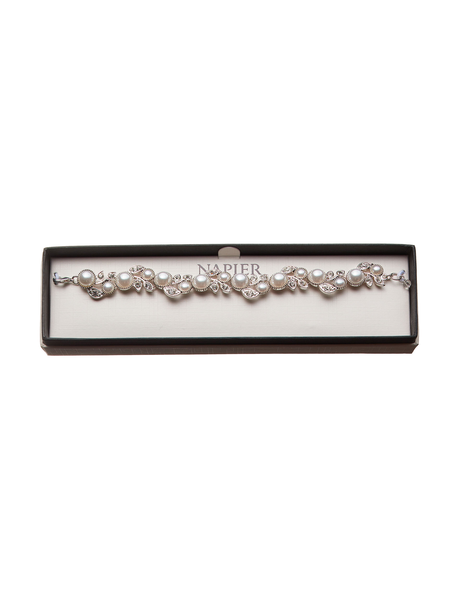 Napier Silver Bracelets Fashion Jewelry