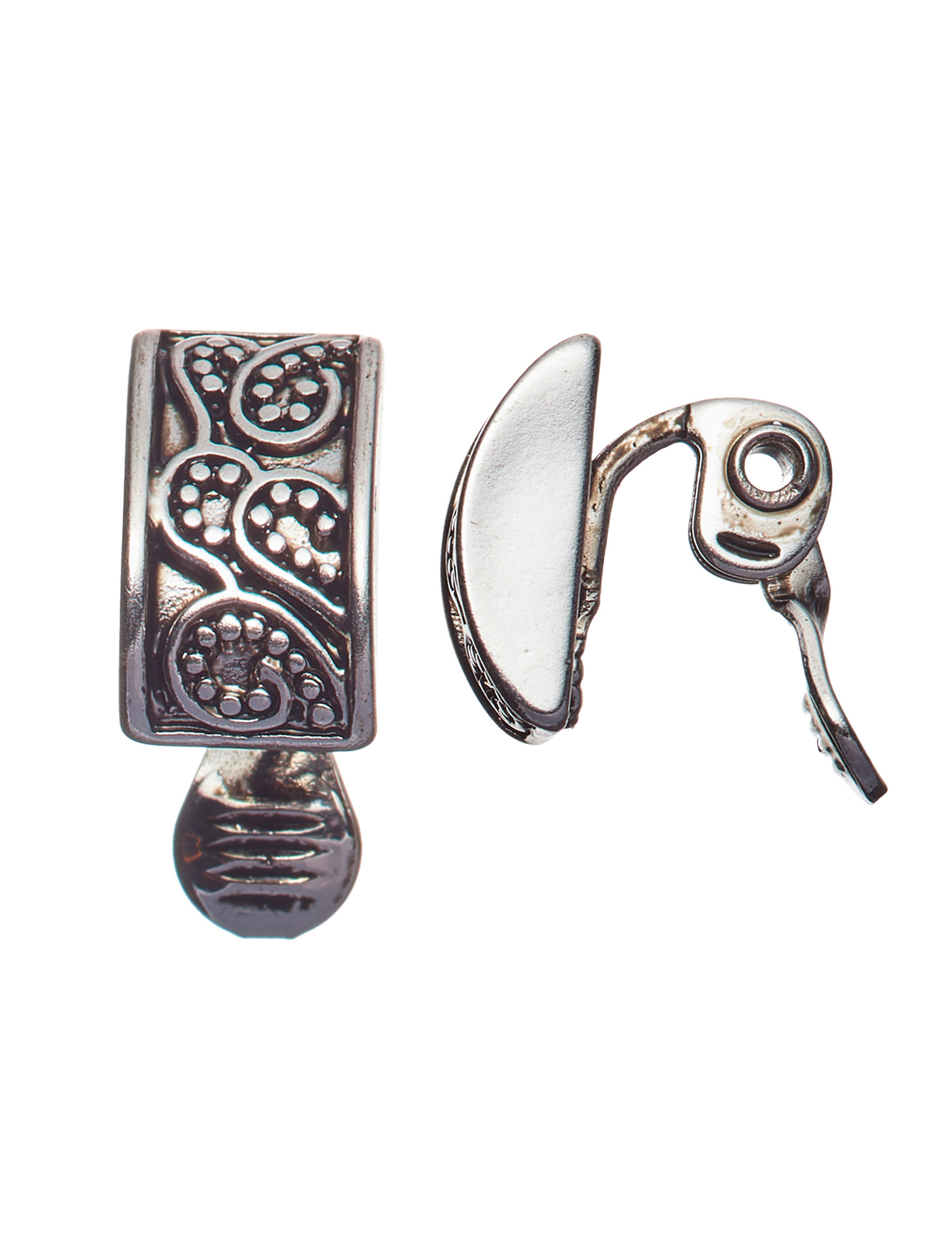 Napier Silver Earrings Fashion Jewelry